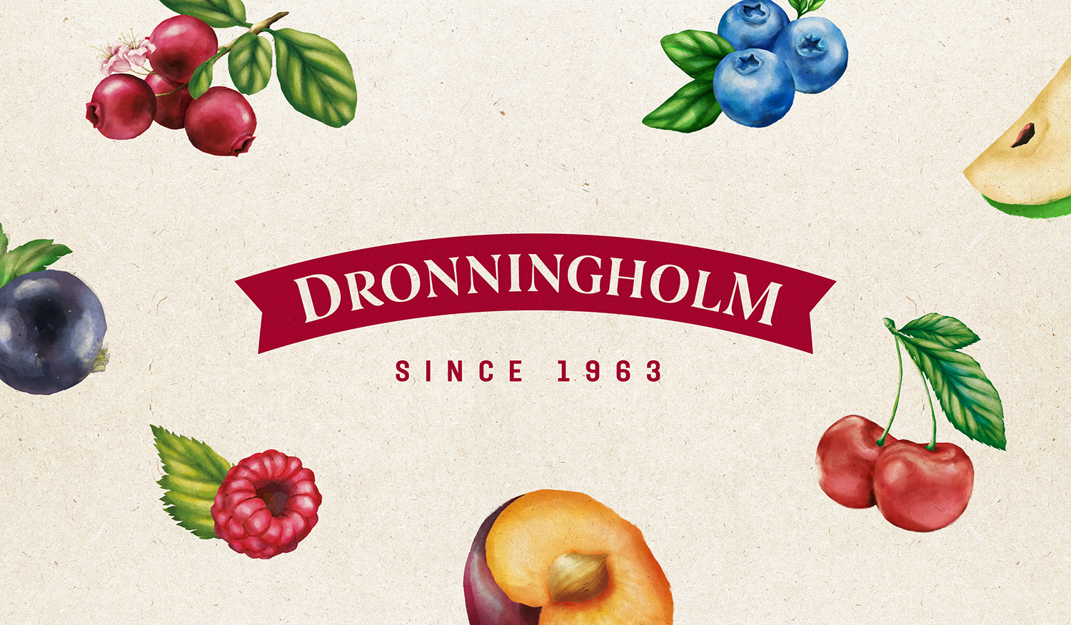 Rebranding of Dronningholm Created by Pointbleu Design