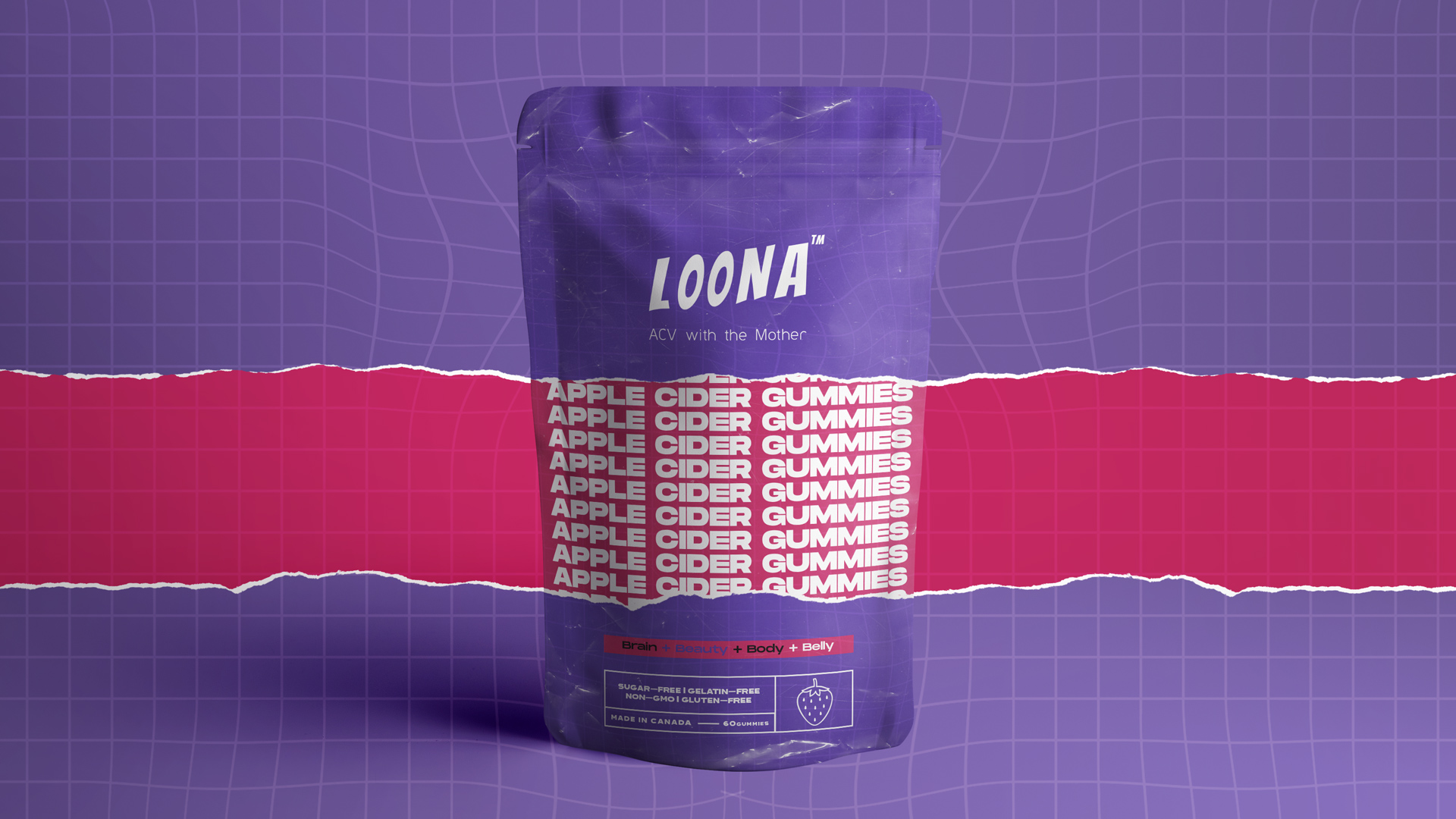 Brand Identity and Packaging for Pharmaceutical-Grade Line Products Loona