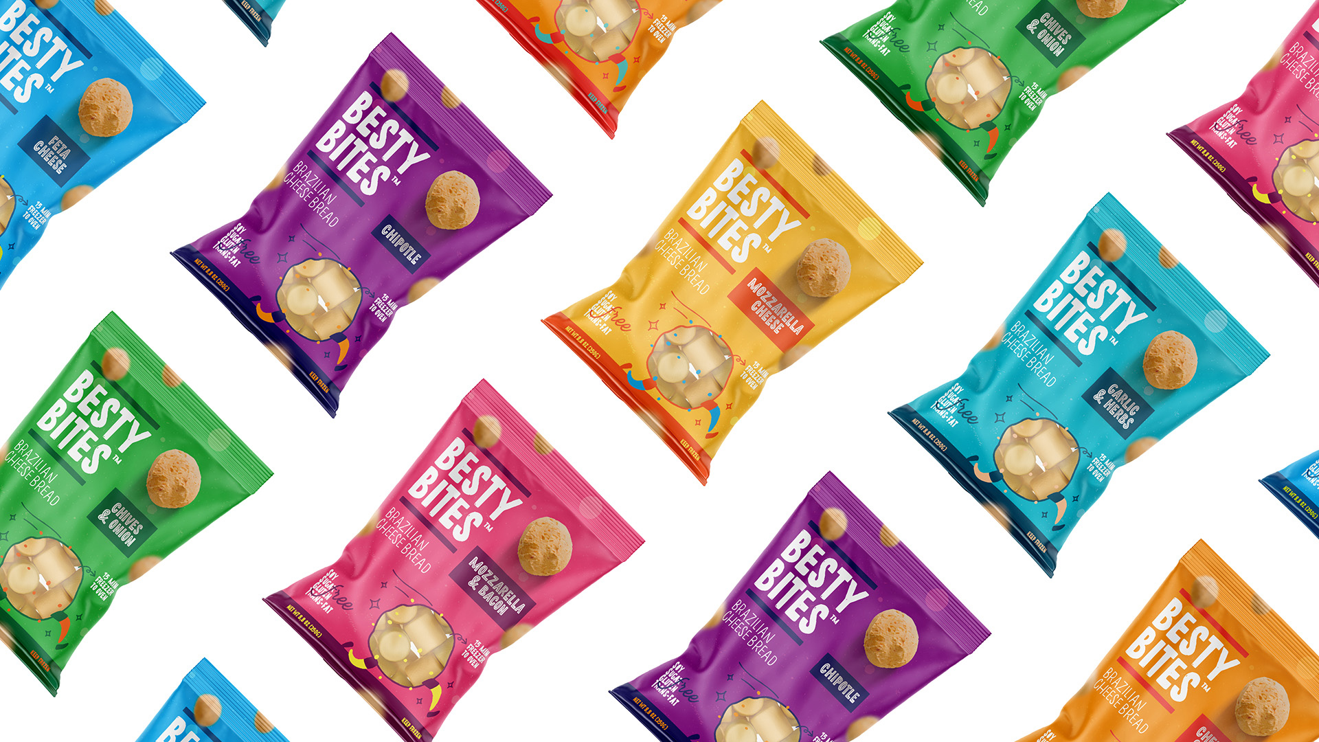 Feitoria Creates Packages for Brazilian Snacks Sold in the United States