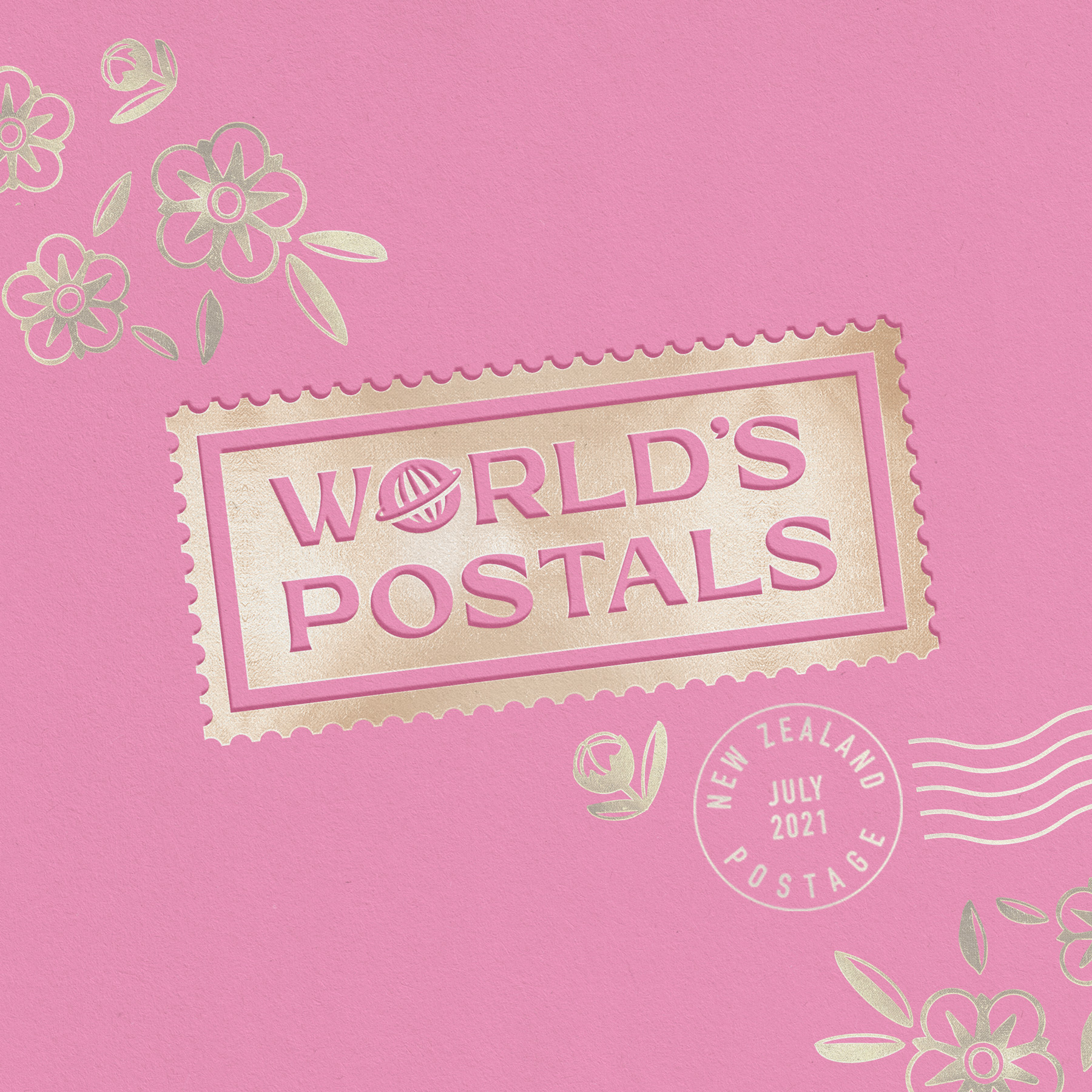 World's Postals Non Published Concept by Spasm Studio