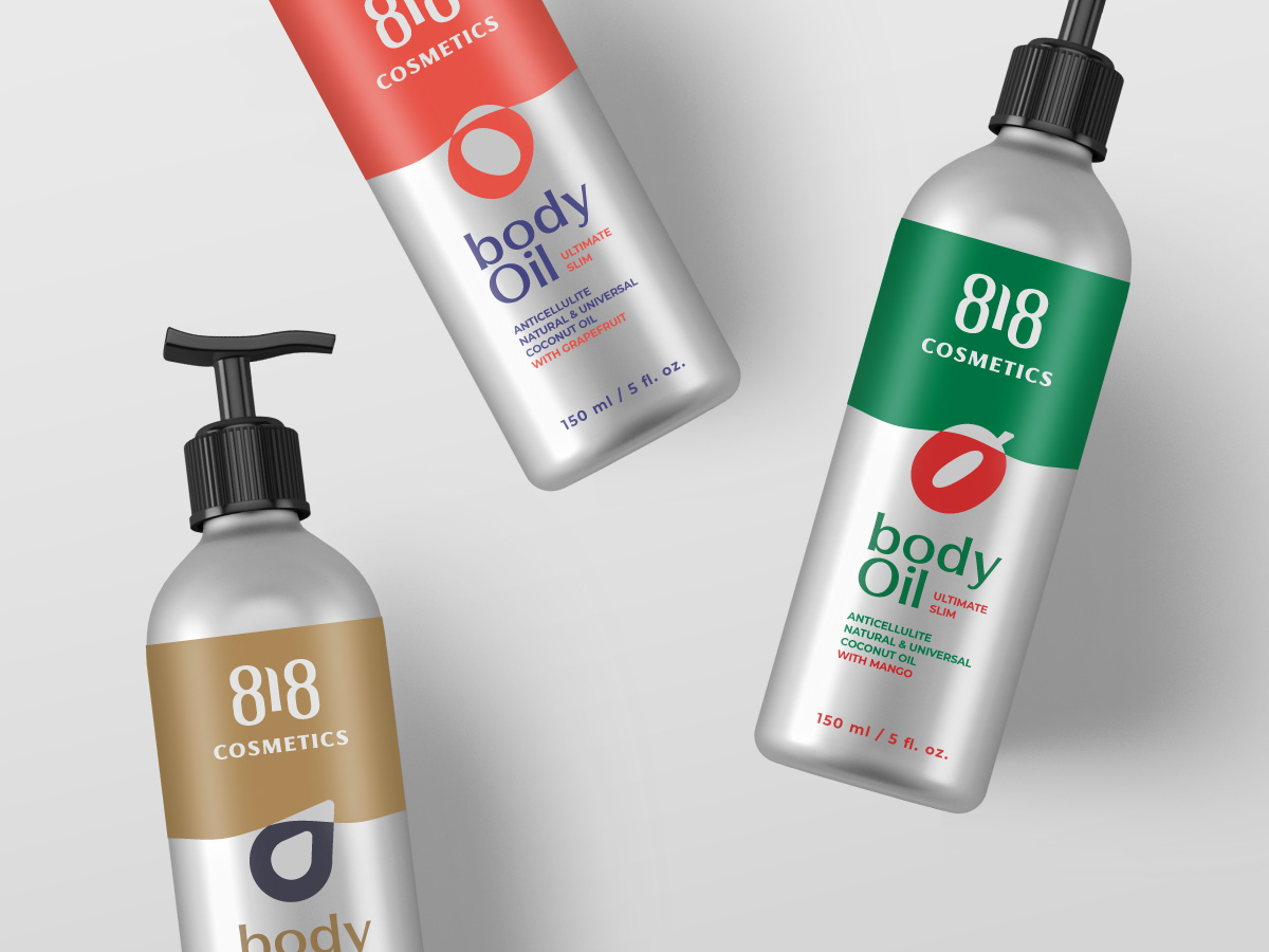 818 Skin Care Cosmetics Brand and Packaging Design by Artgeneracia
