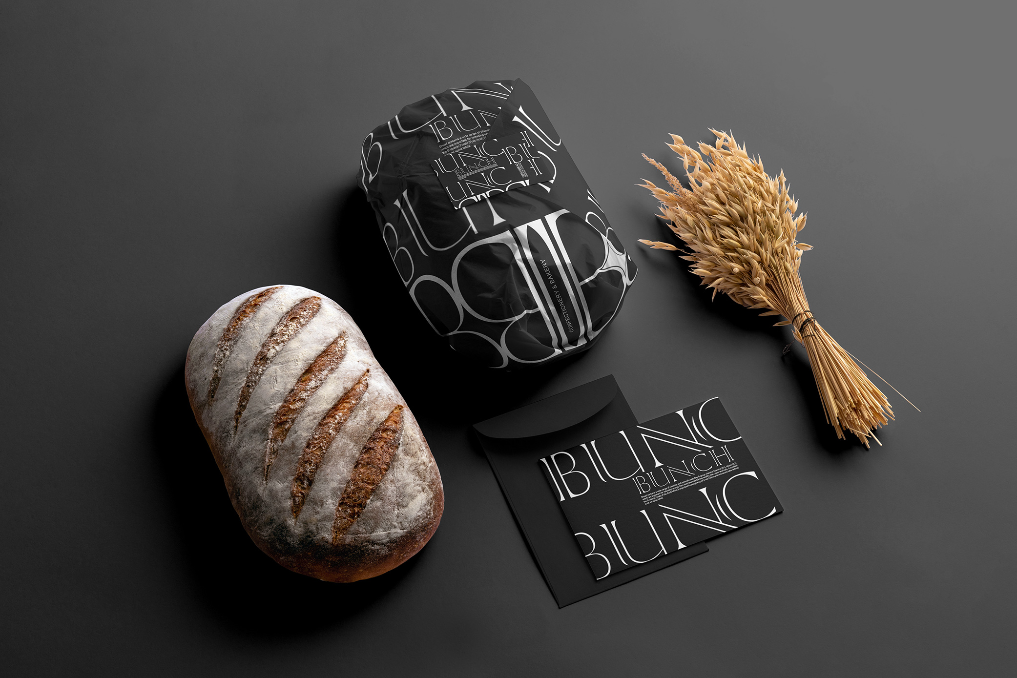 Branding and Packaging for Bunch Bakery in Palladium, Tehran