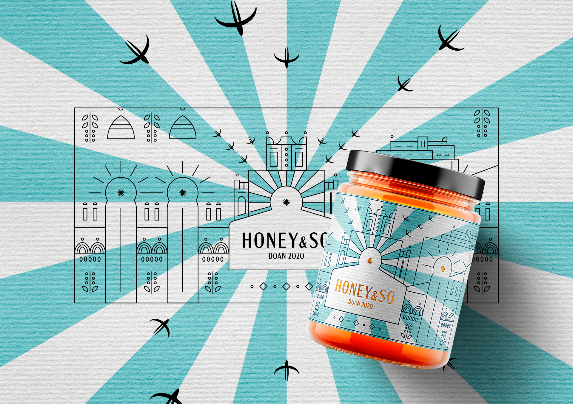New Label to Commemorate a Special Vintage for Honey & So