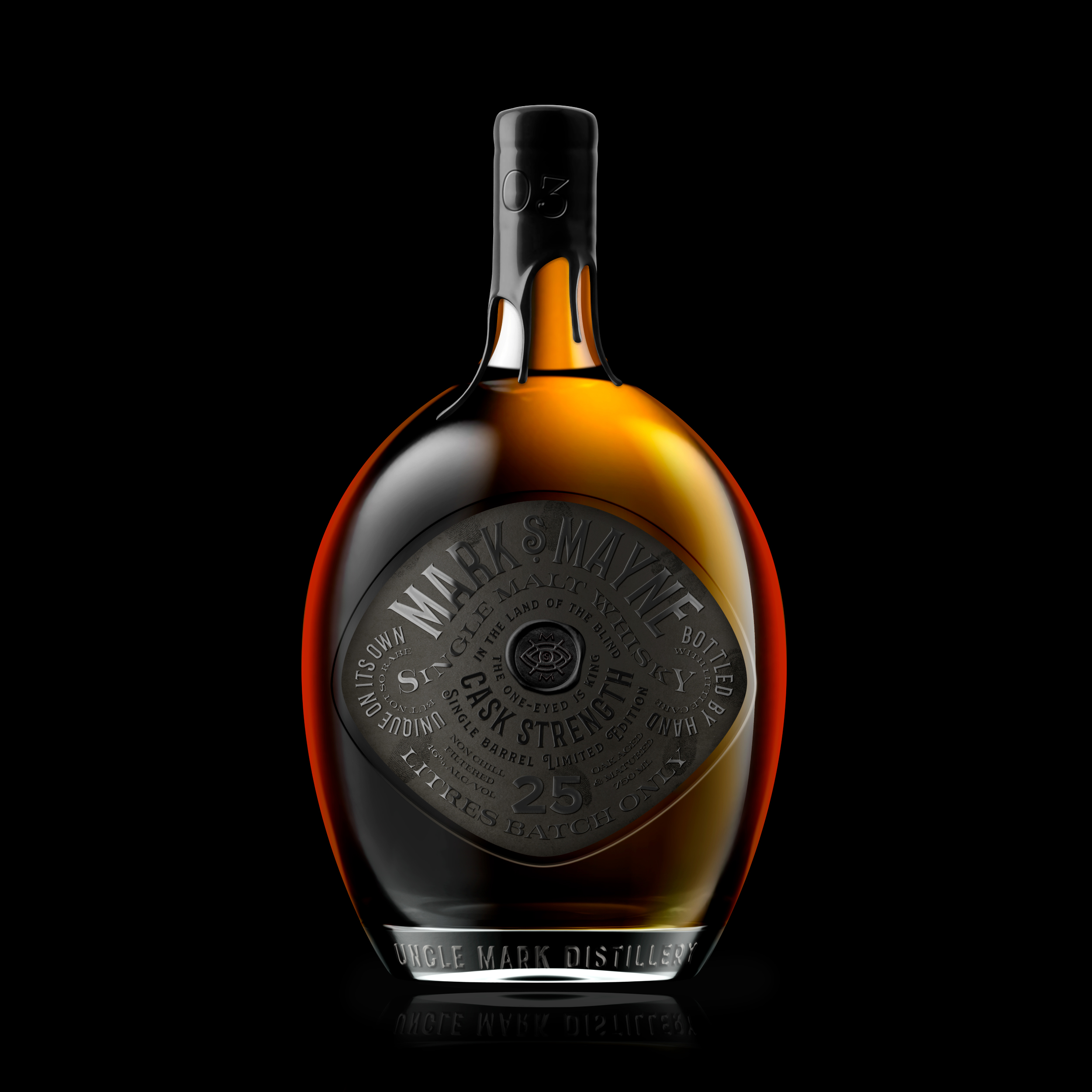 Not Just Another Garage Whisky Designed by Jacomy Mayne and Oveja Quiroga
