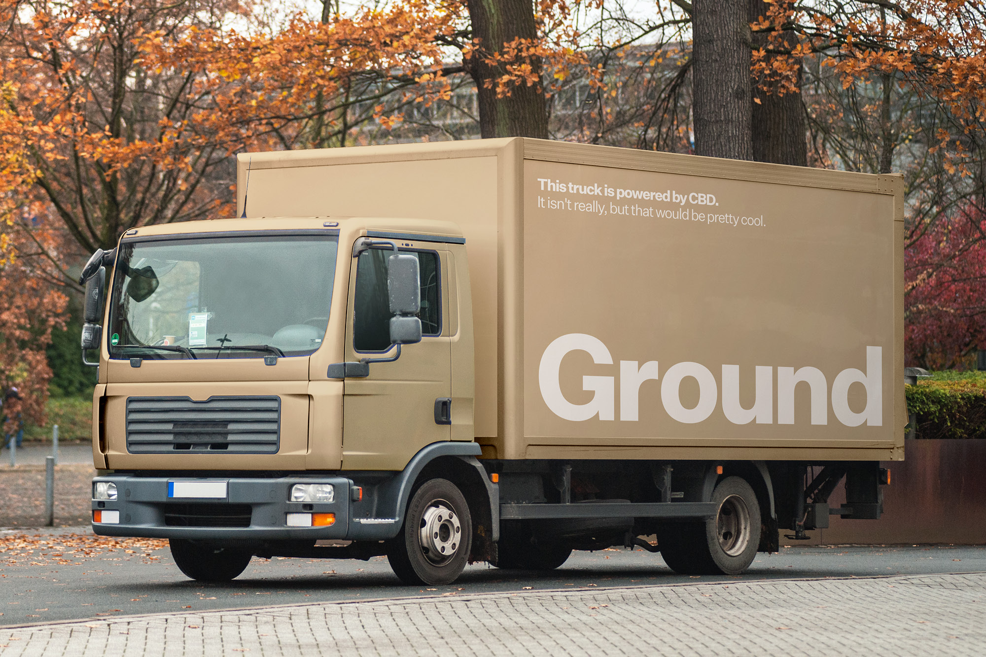 Naming and Branding for Ground Designed by Fook Communications