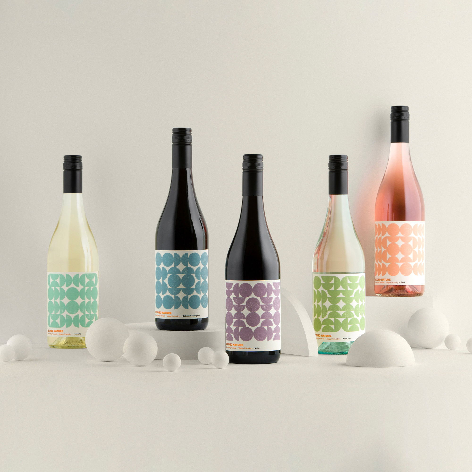 Byerlee Design Creates Labels for New Ethical Wines Range Second Nature