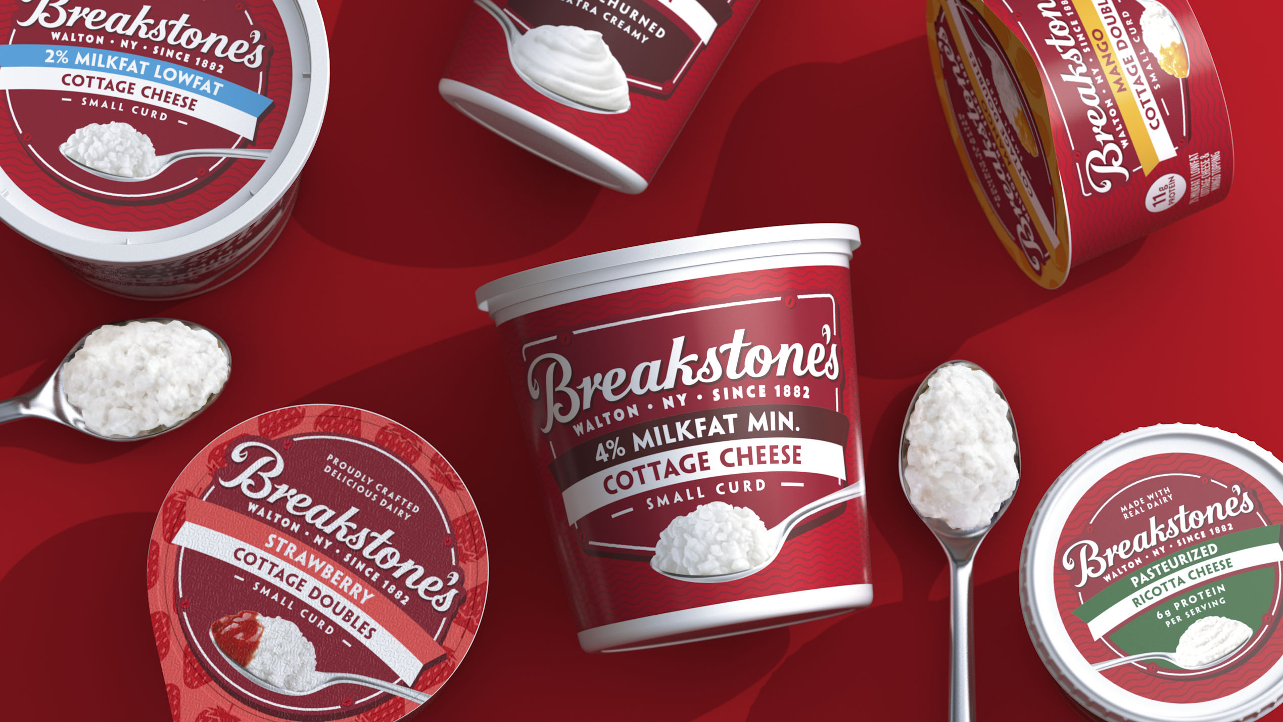 Breakstone's Brings Culture Back to the Dairy Aisle with Brand Overhaul by BrandOpus