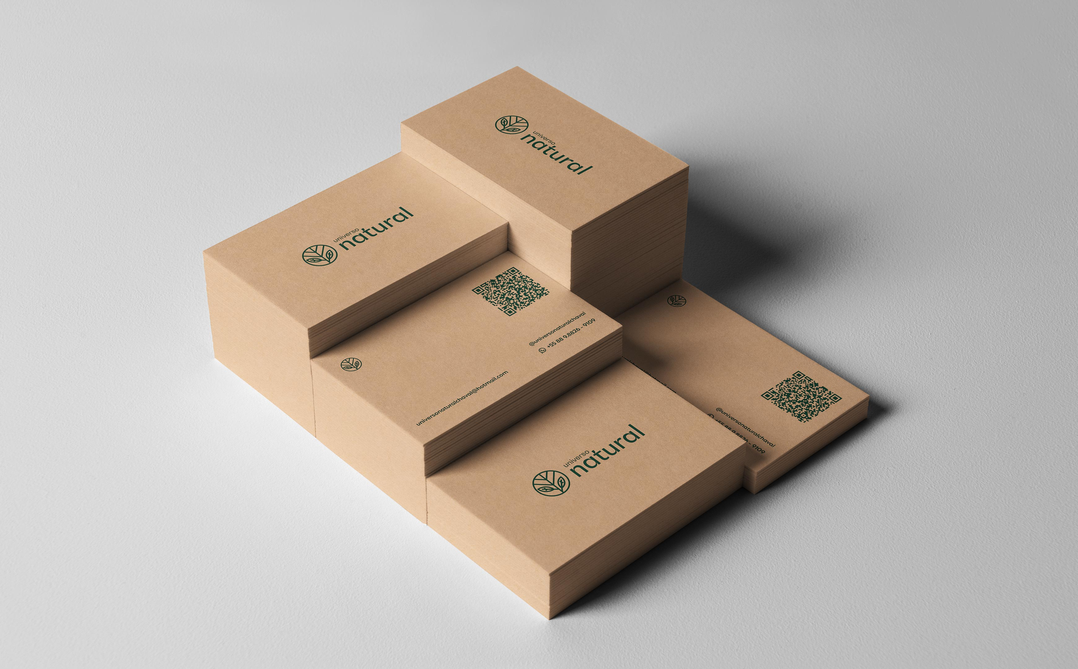 Silas Creative Studio Create Visual Identity and Packaging Design for Universo Natural