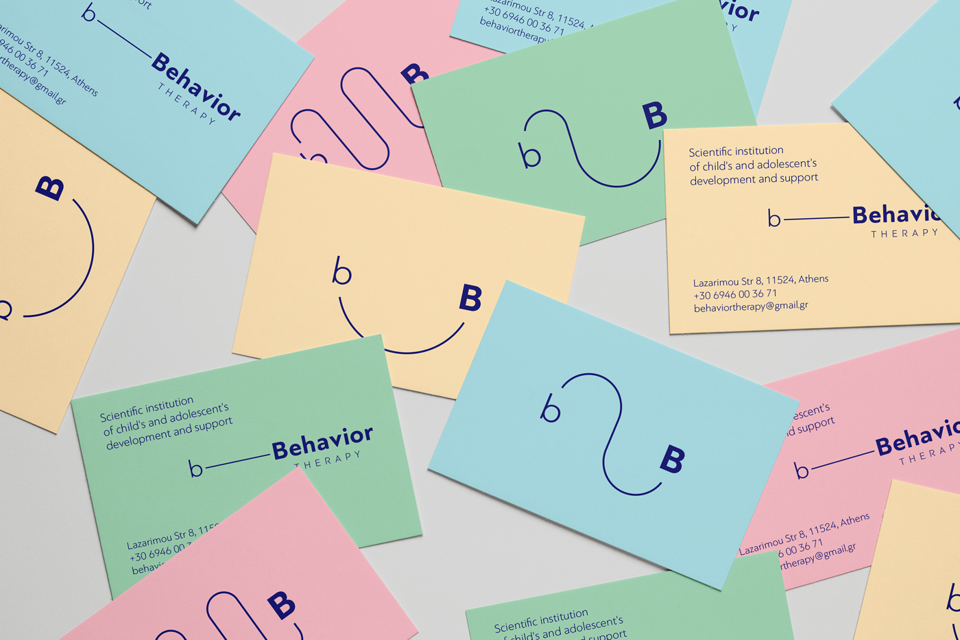 Branding for Behavior Therapy a Scientific Institution for Child's Development and Support