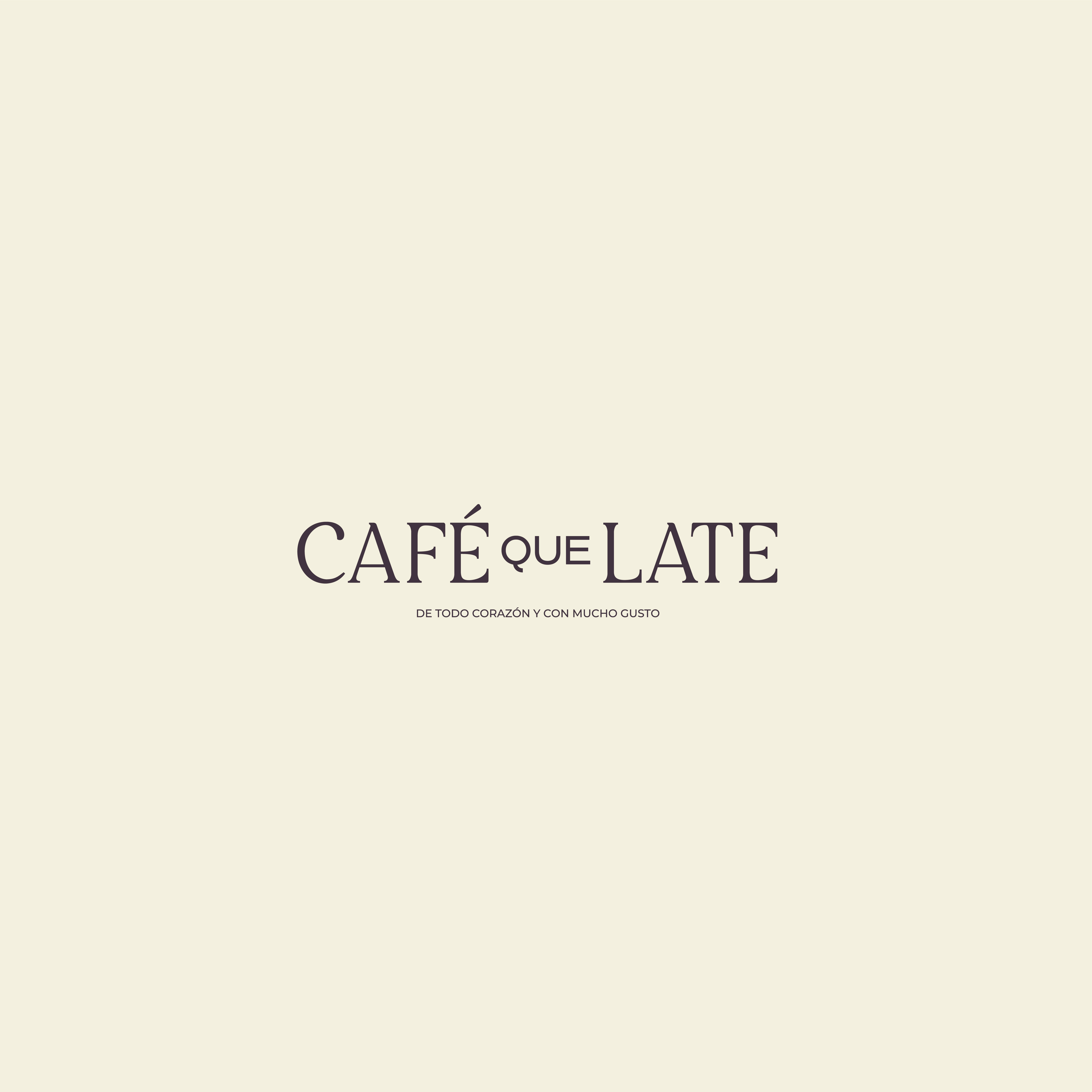 Concept Identity and Packaging Design for Café que Late by Ligero