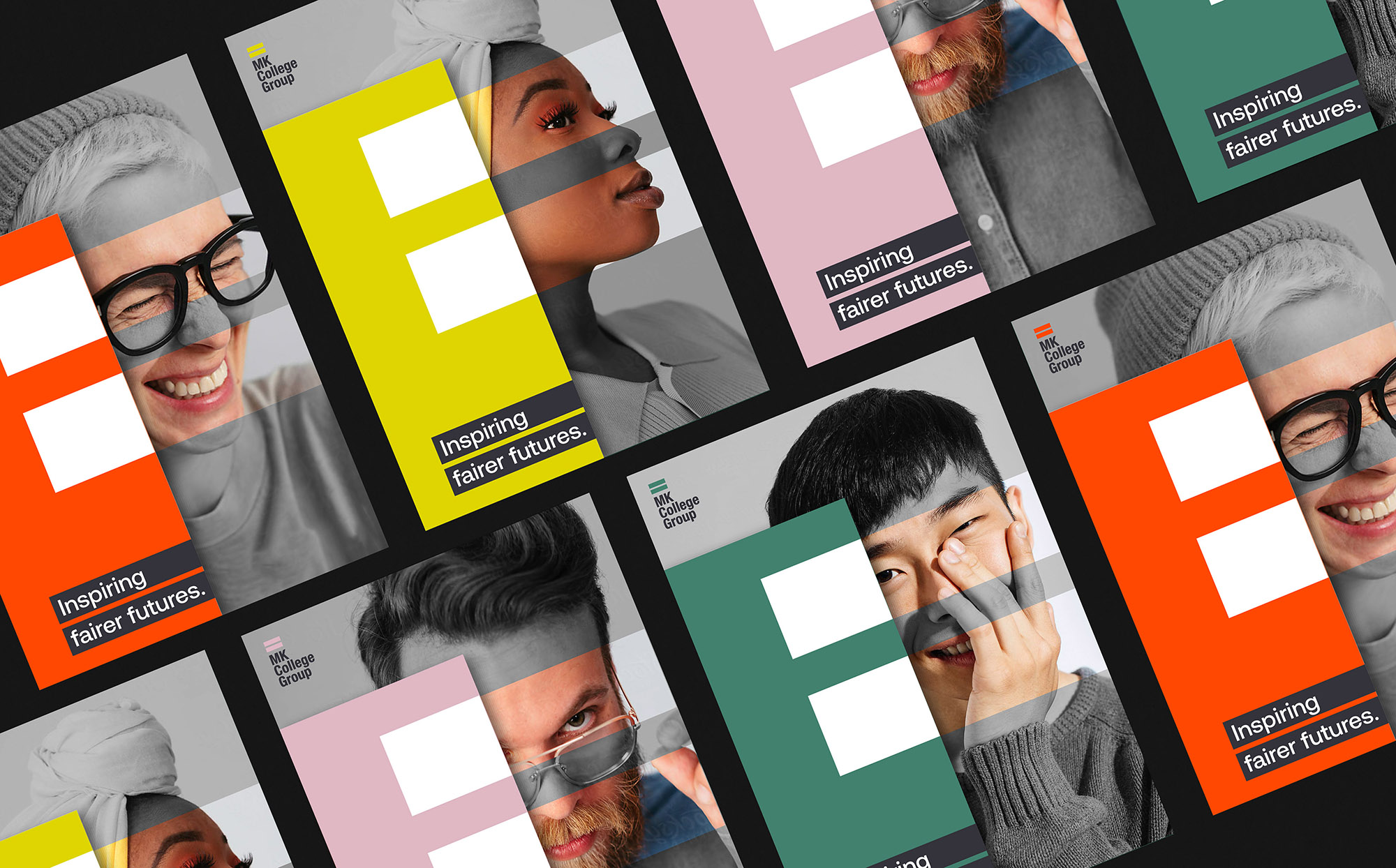 Inclusive and Diverse Brand Identity for Milton Keynes College Group