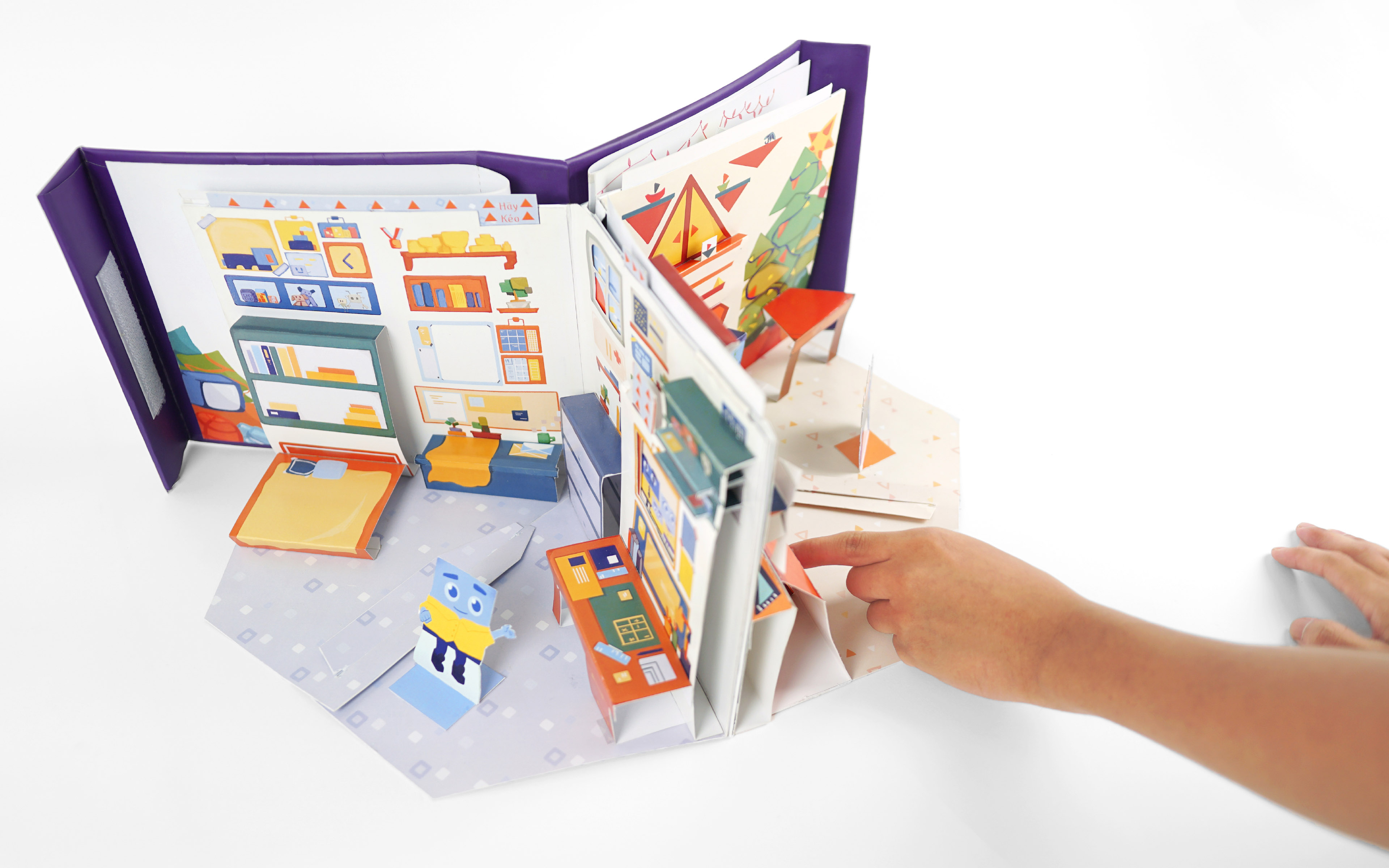 Student Team Create Pop-up Book: What is the Shape of my Room?