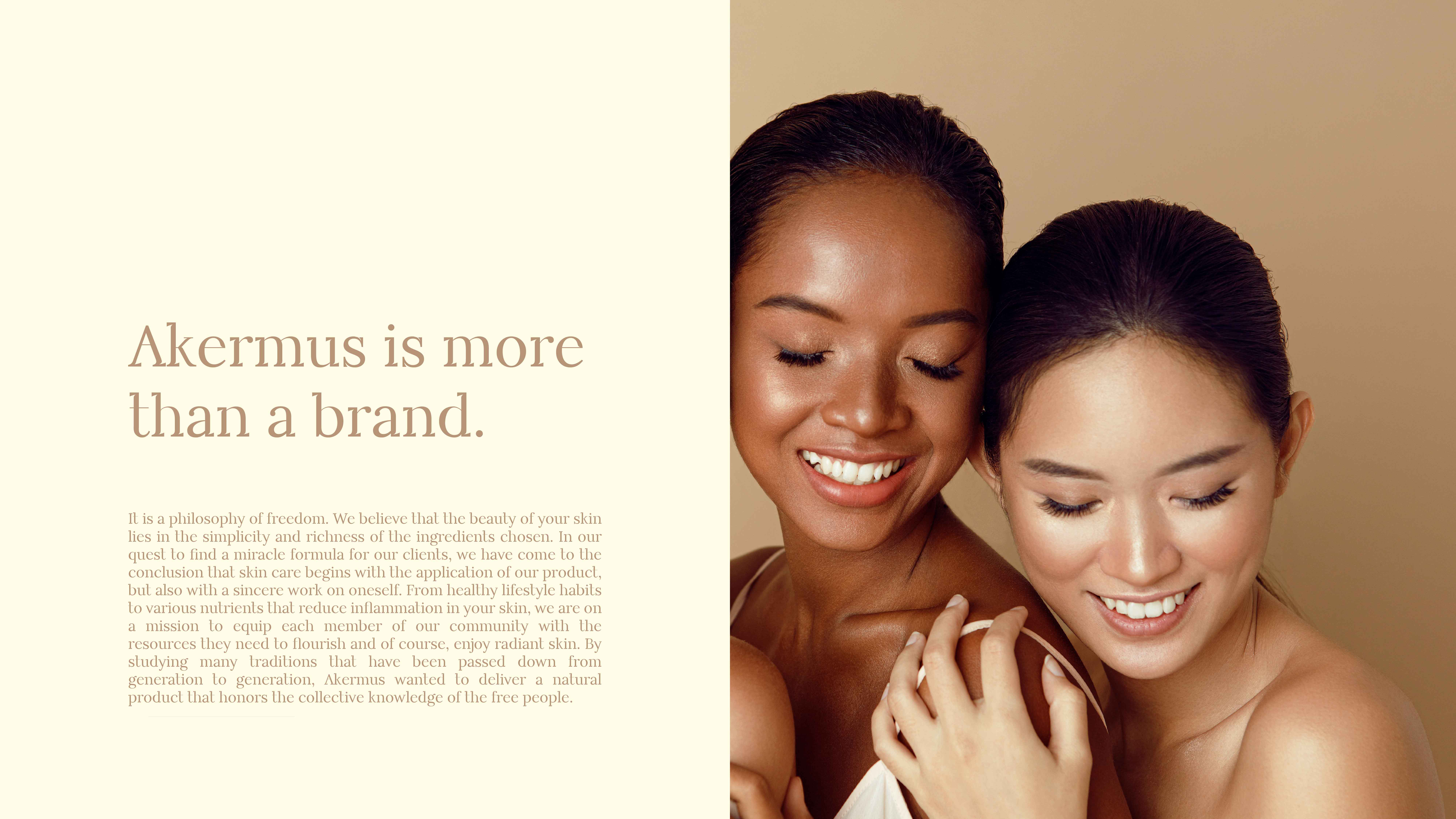 Akermus Skin Care Brand Designed by Mahmoud Ismail