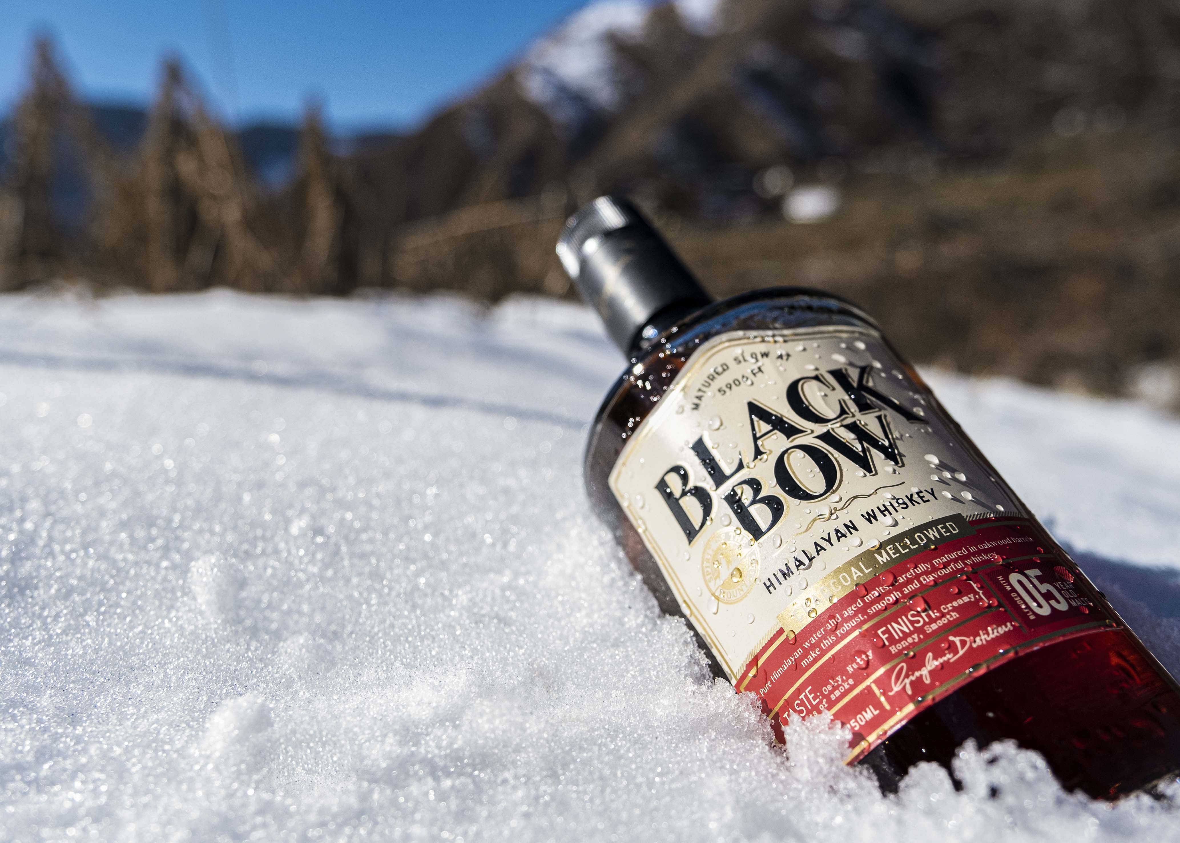 Identity and Packaging Design for Black Bow