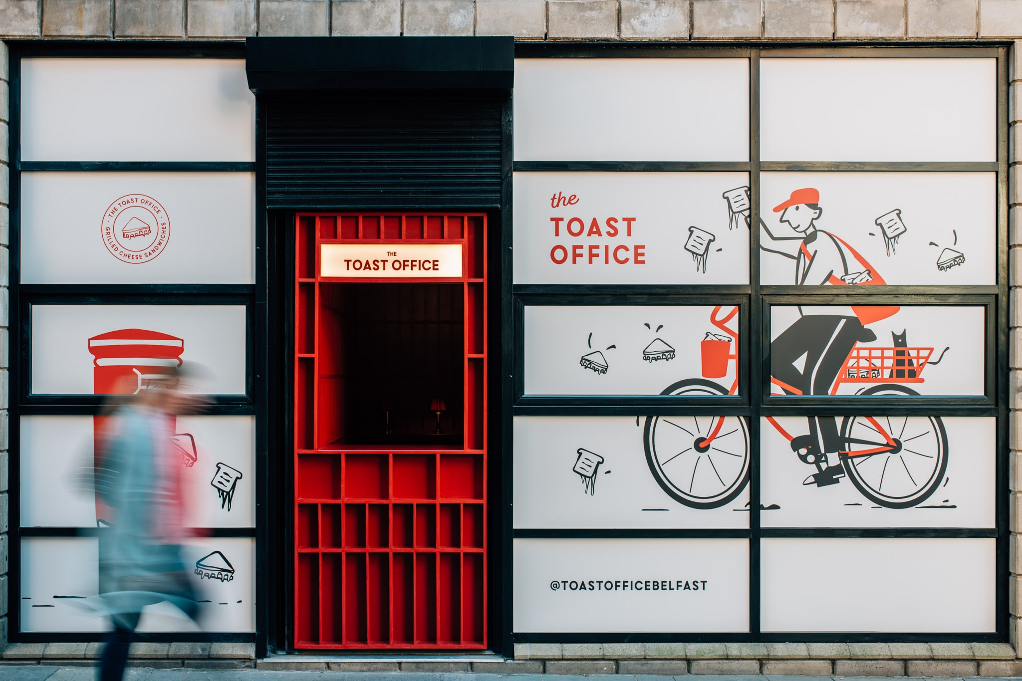 The Toast Office Grilled Cheese Worth Queuing for