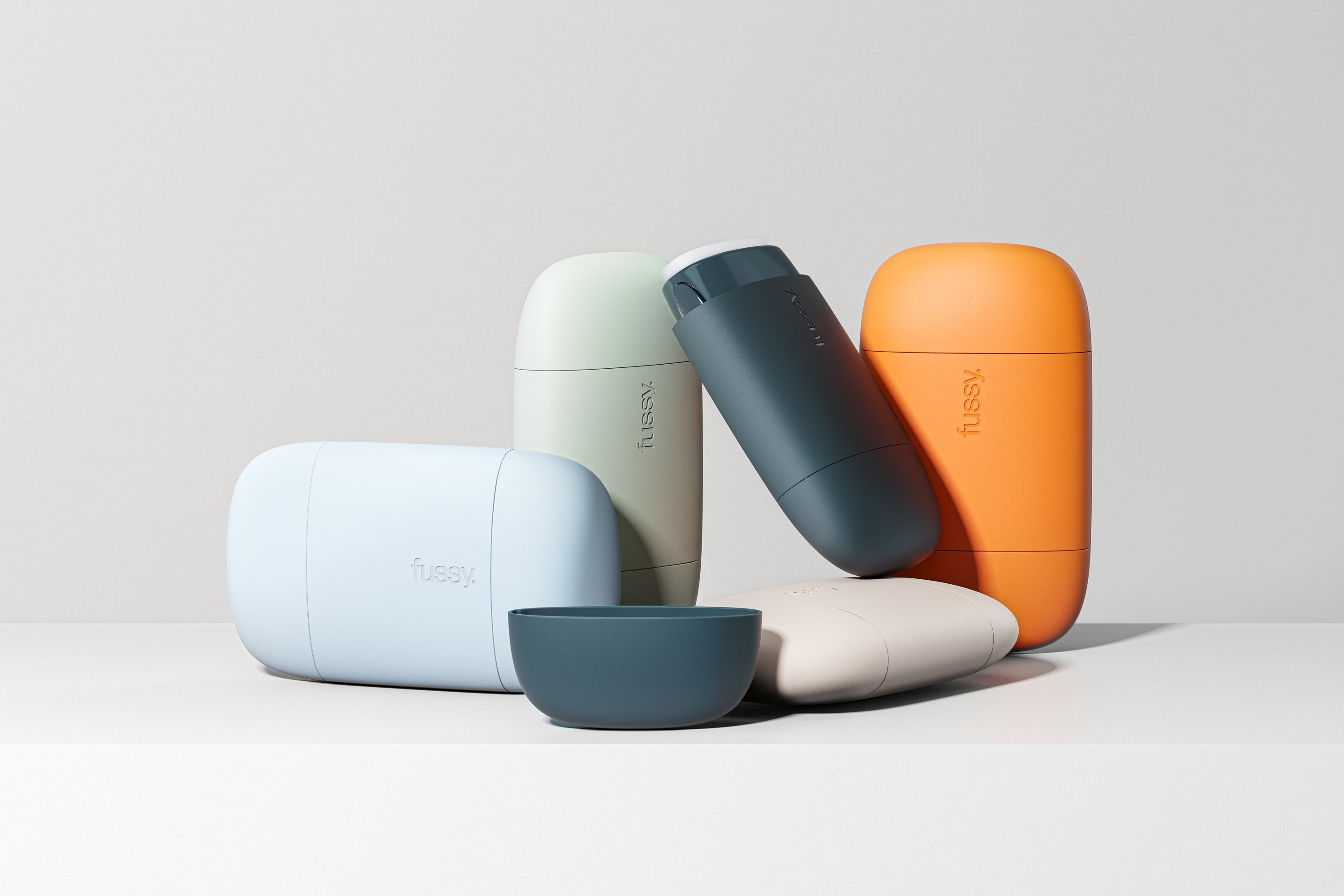 London-Based Studio Blond Takes Inspiration from Pebbles for the Design of Refillable Subscription Deodorant Fussy