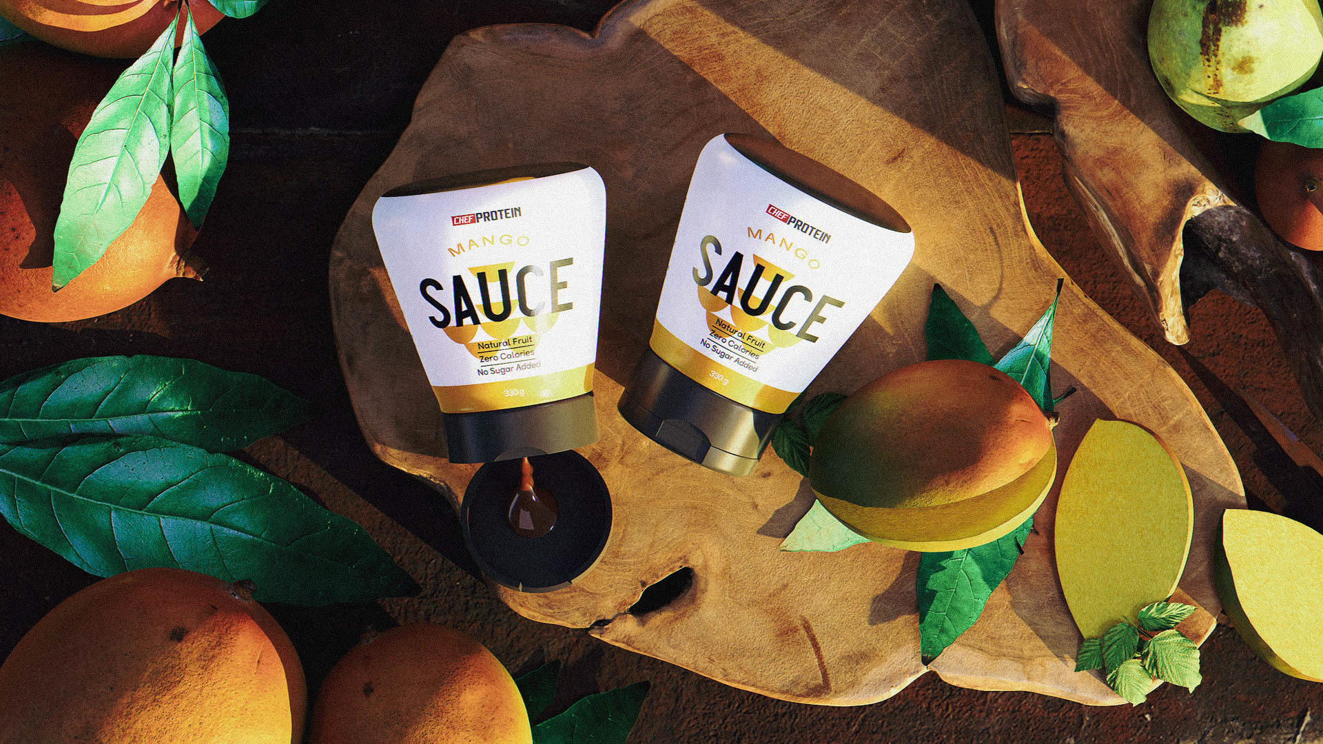 Packaging Design for Sauce Chef Protein