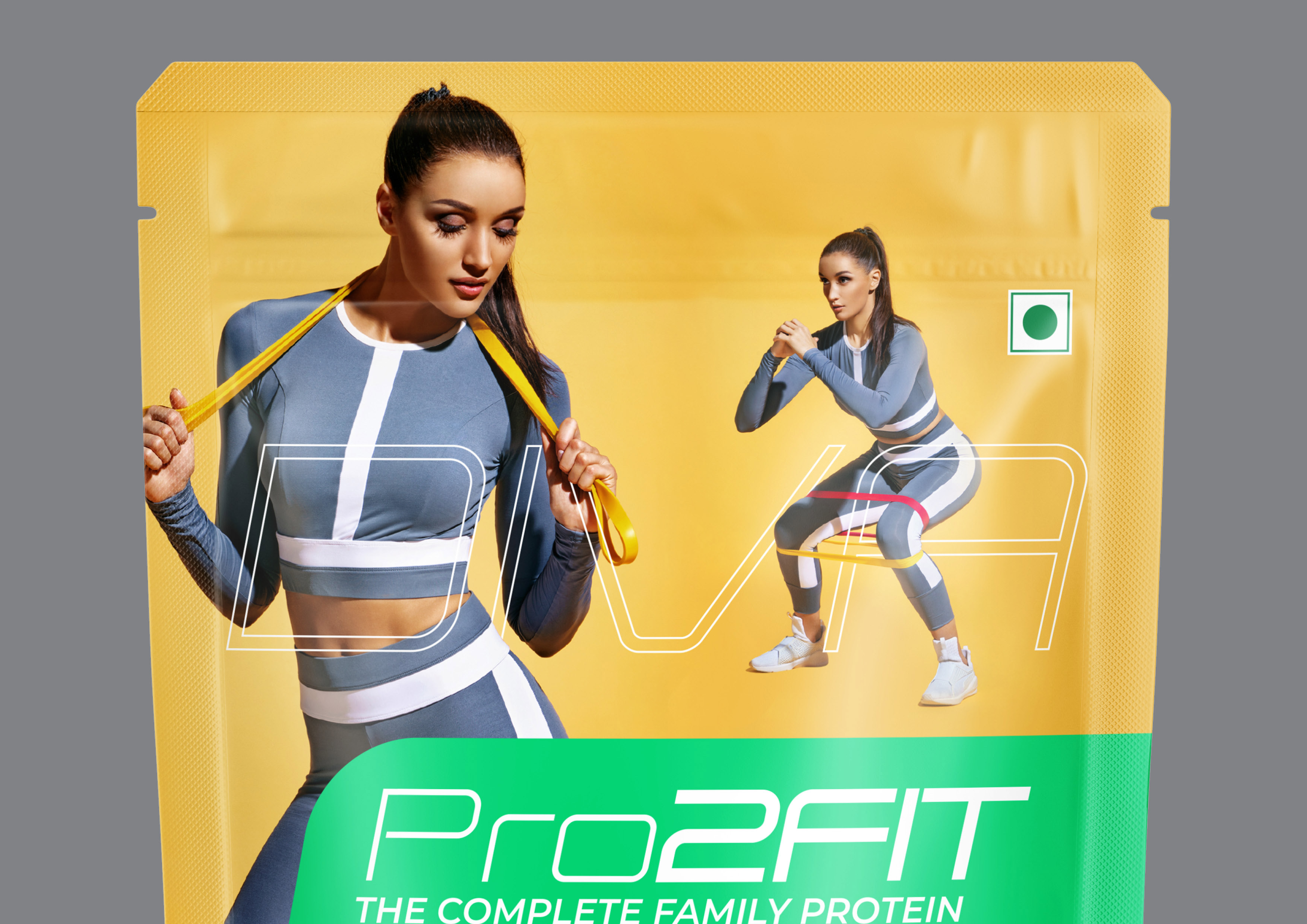 Reimagined Pro2Fit Vegan Protein Packaging for One of the India's Most Adored Protein Brand