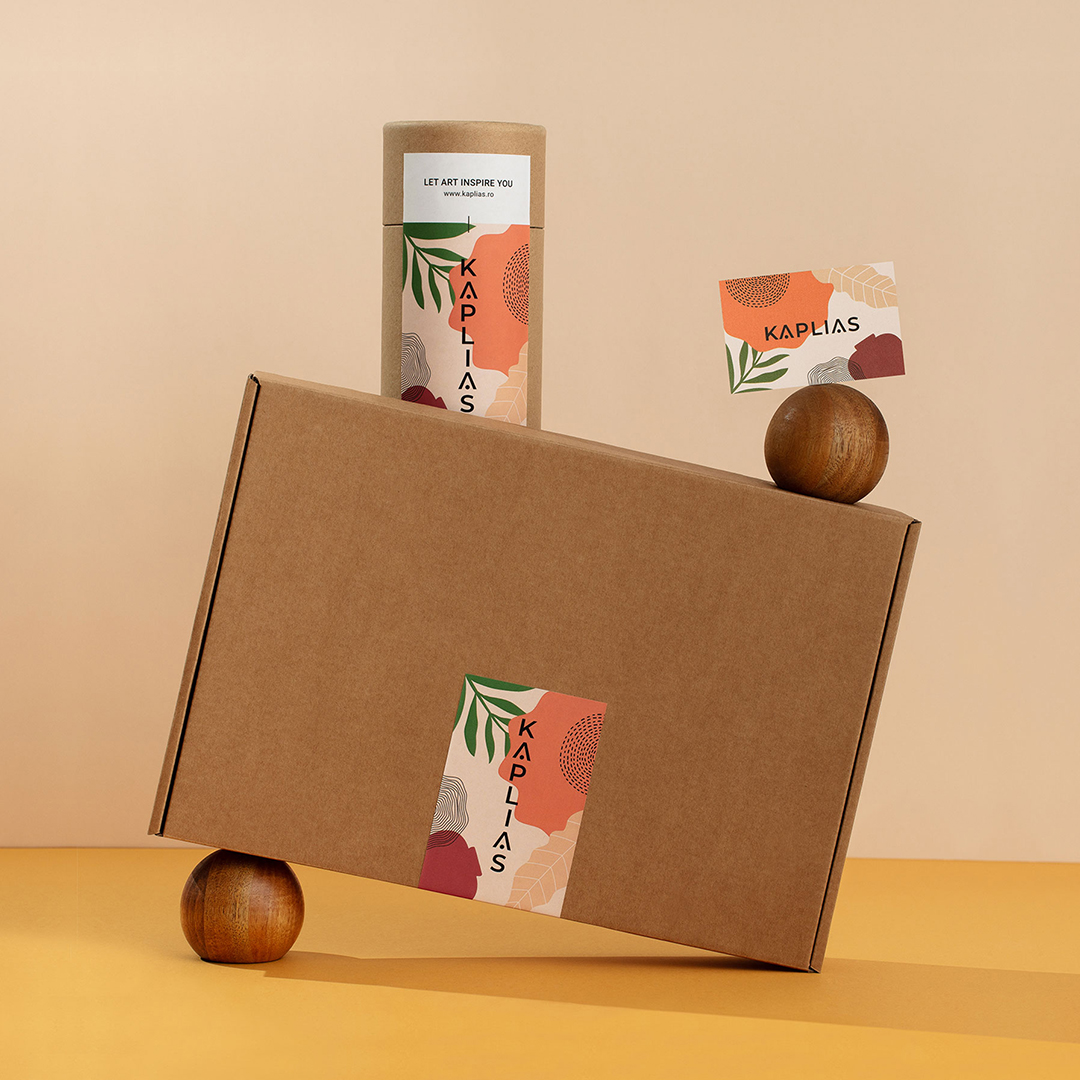 Brand Identity and Packaging Design for Kaplias