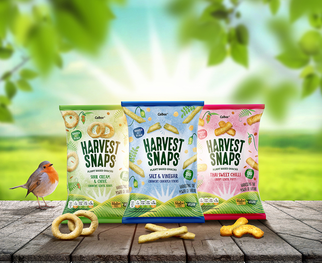Fun Agency Helps Harvest Snaps Improve Consumer Appeal Through Packaging Redesign