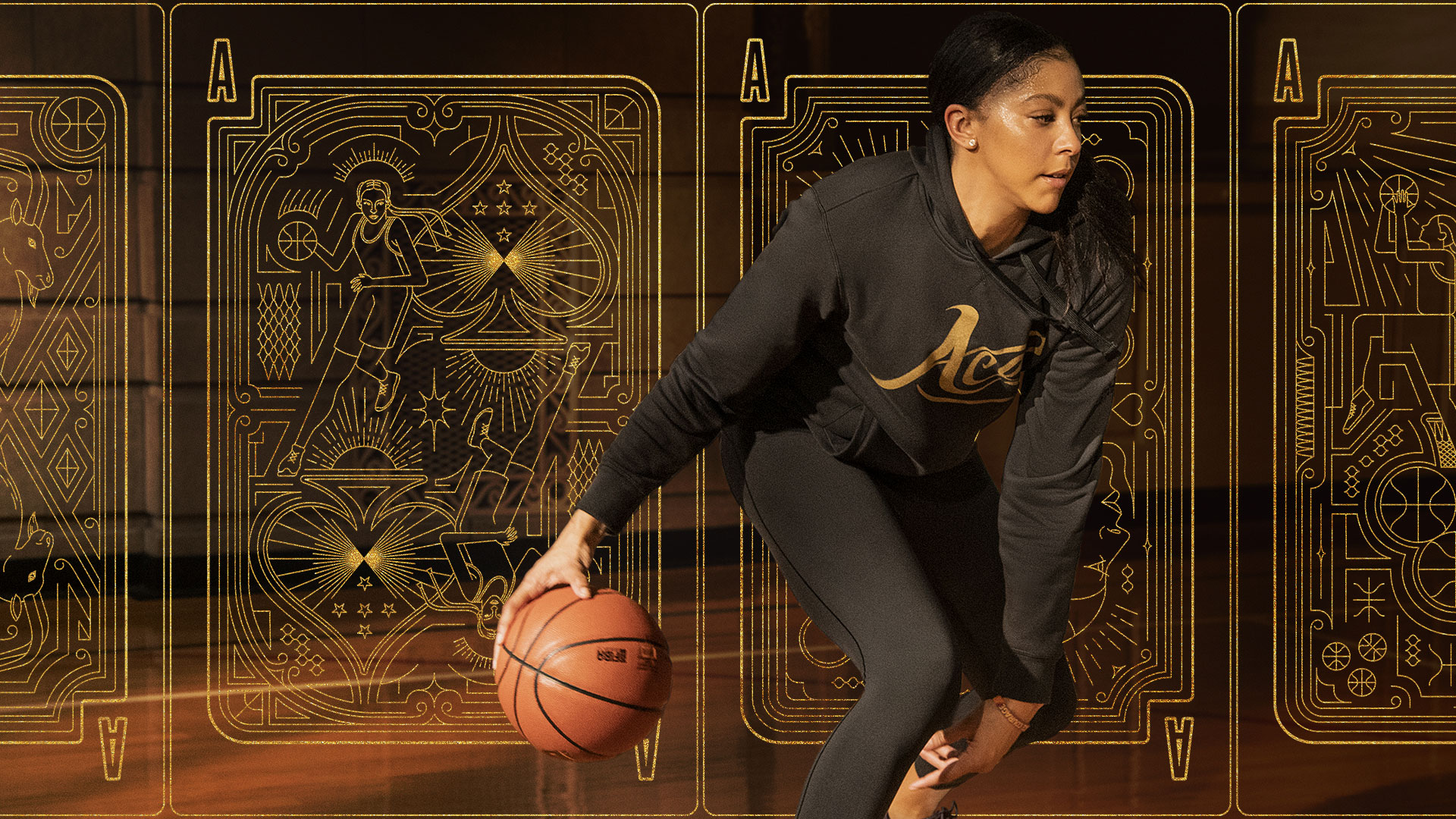Candace Ace Parker Visual System for Signature Product line by Fabiano Tatu