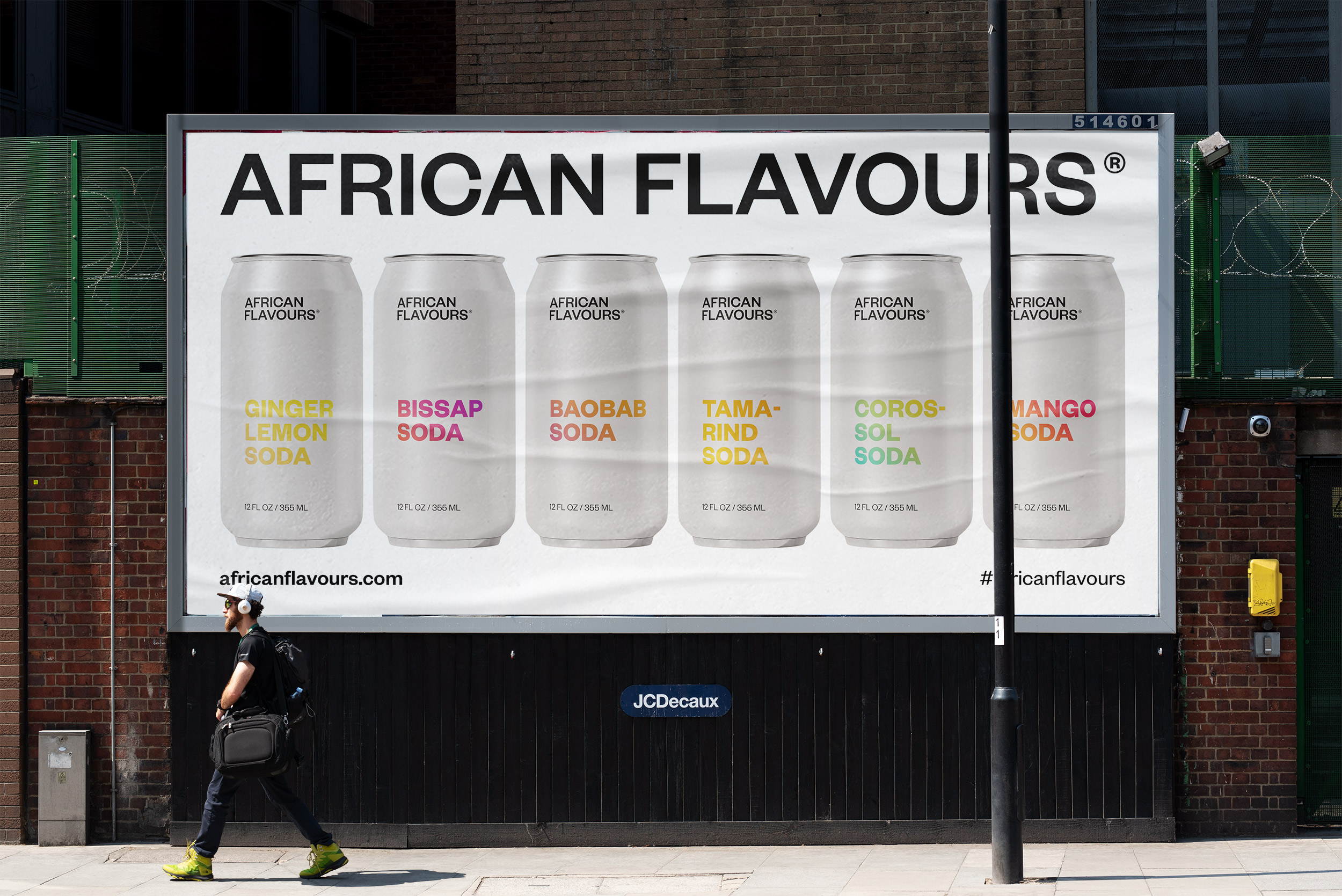 Jérémie Awolou Create a Visual Identity for a Soda Experience with African Flavours