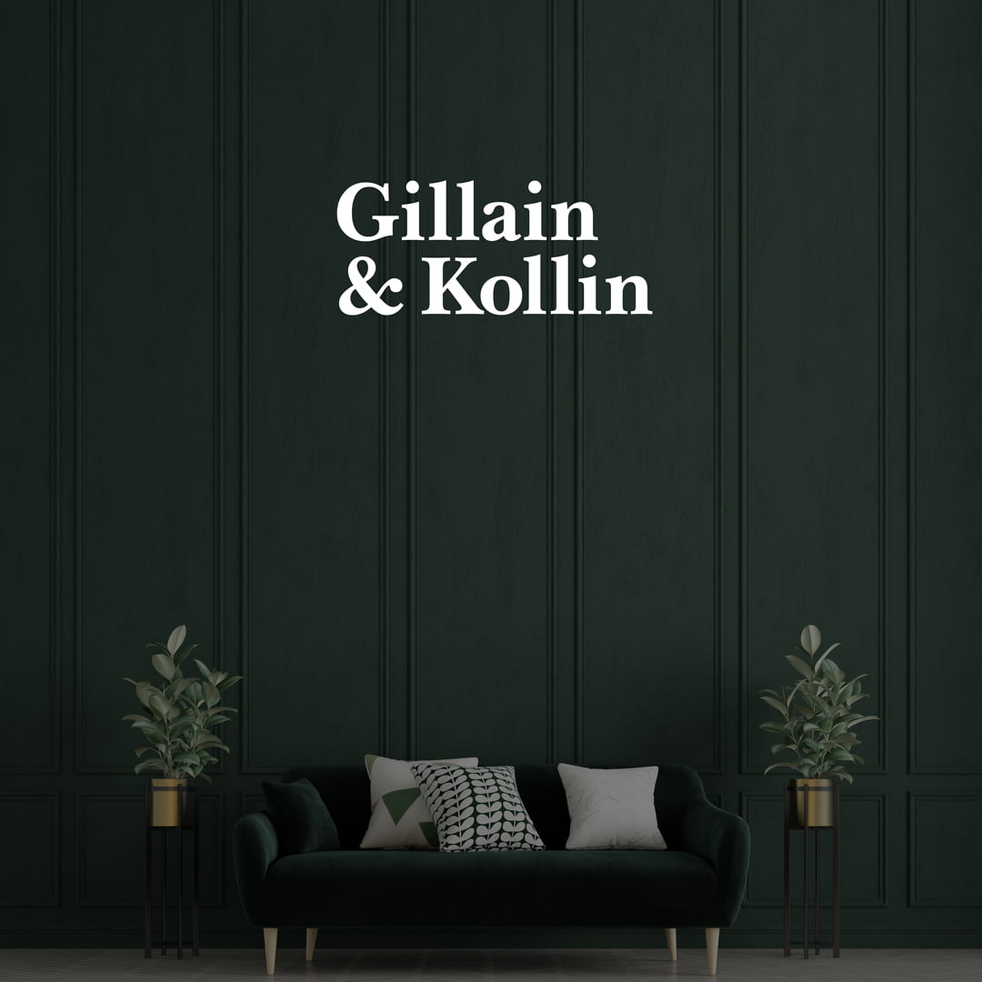 Brand Identity System for Gillain and Kollin