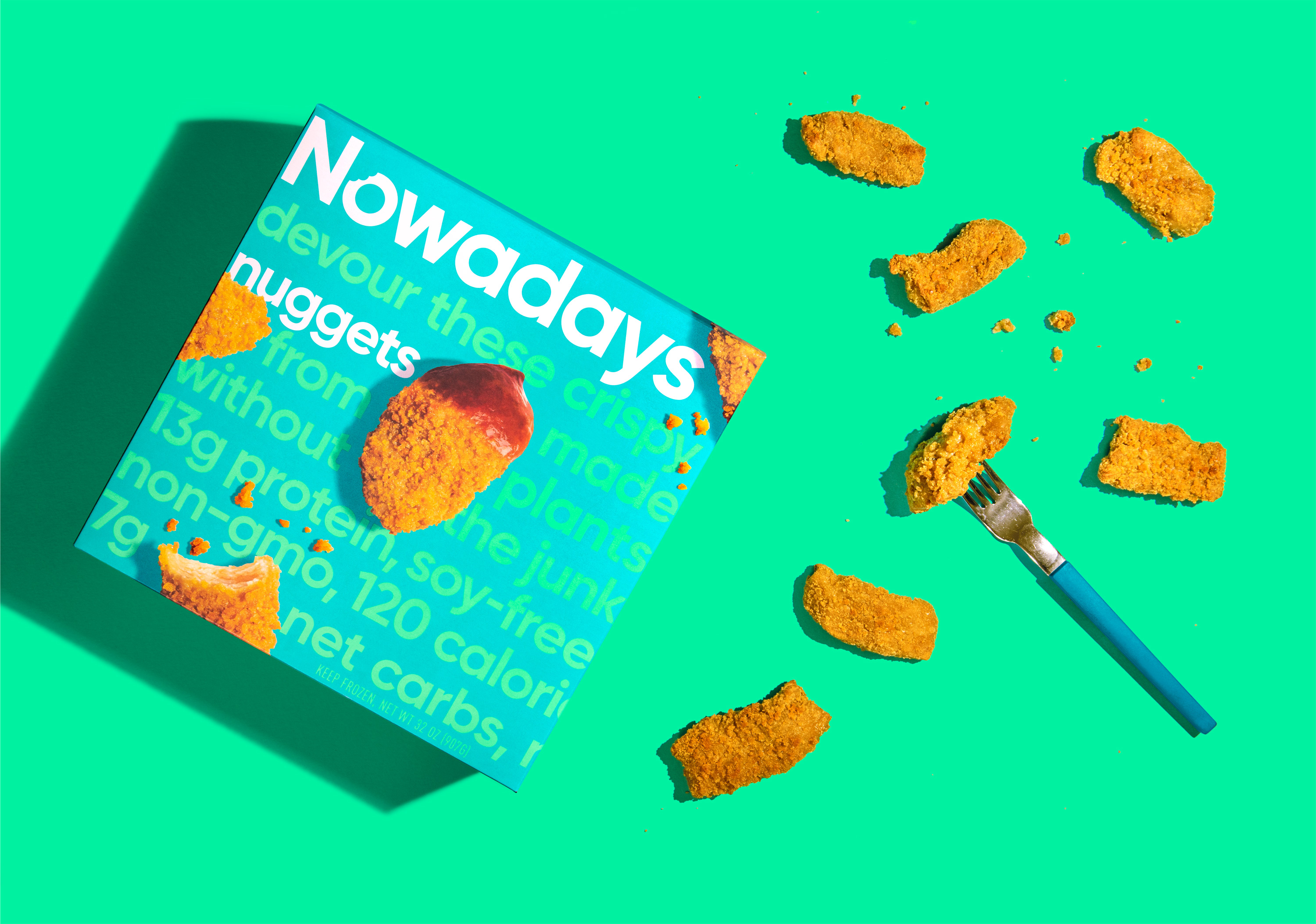 Nowadays Brand and Packaging Design Created by Riser