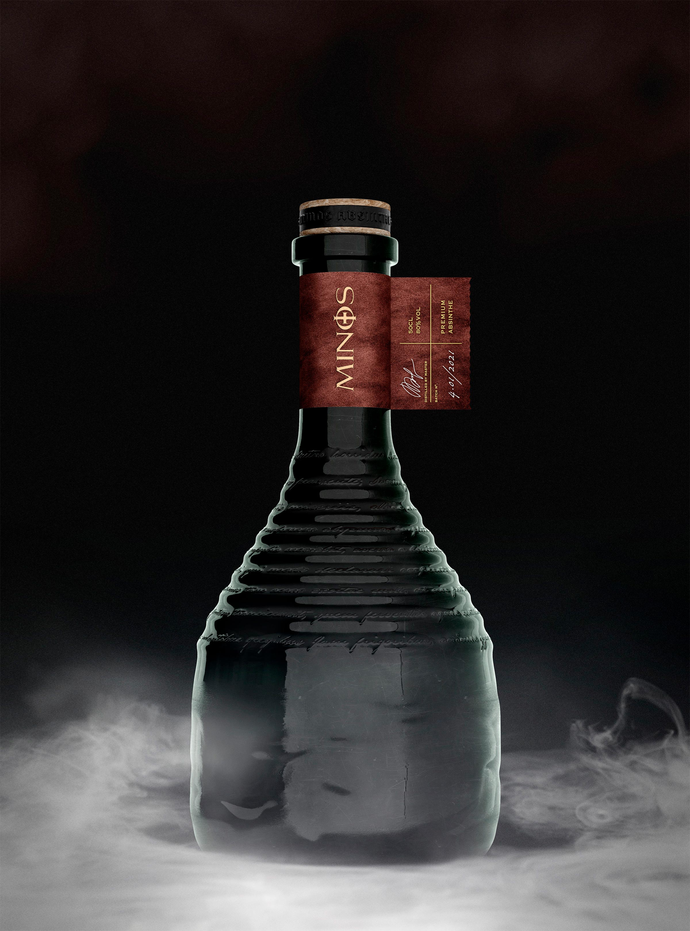 C.Carbon Signed the Bottle and Packaging Design for a Brand New Premium Absinthe