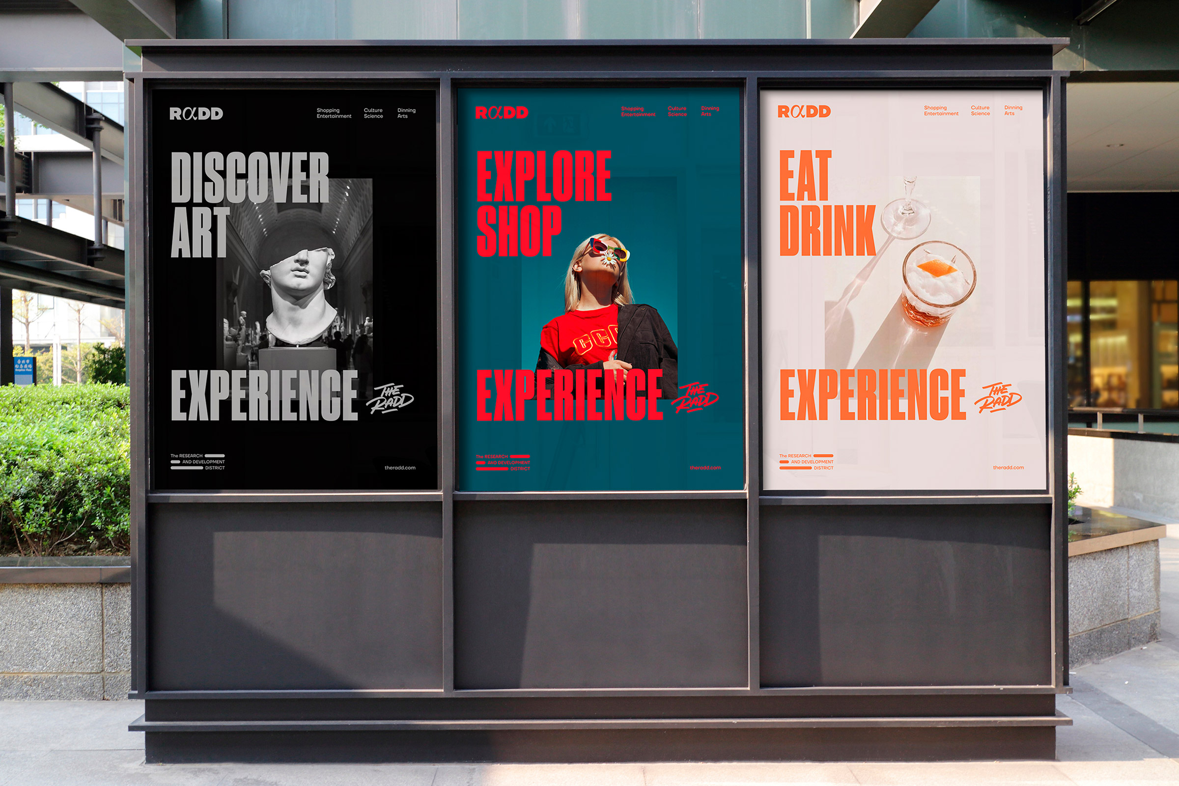 Mubien Brands and Workshop Built Create Brand Identity for The RaDD