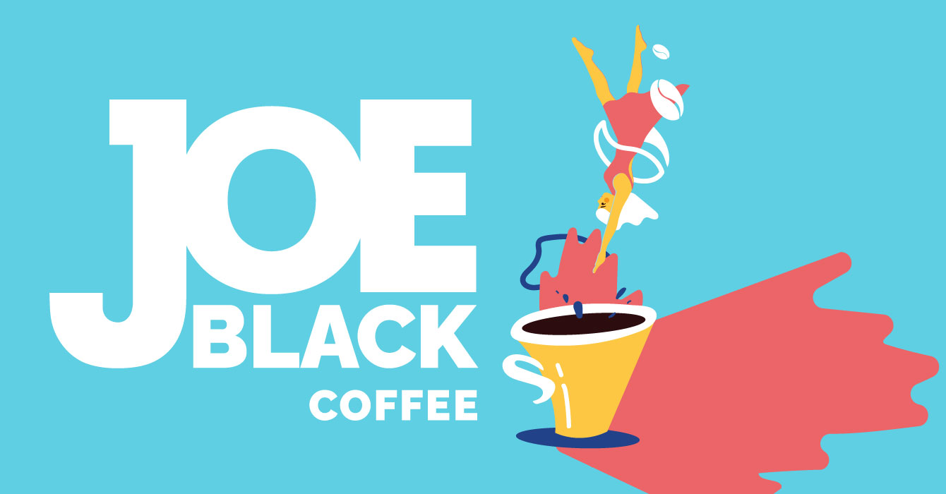 Logo and Packaging for the 3-in-1 Coffee Brand Joe Black by Studio Deza