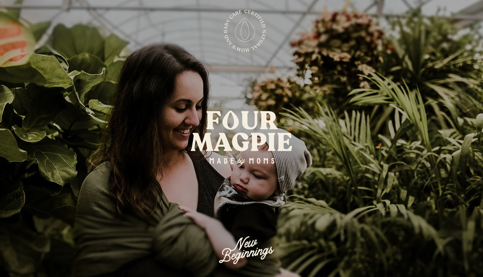 Four Magpie Mom & Baby Care Branding and Packaging Design Concept