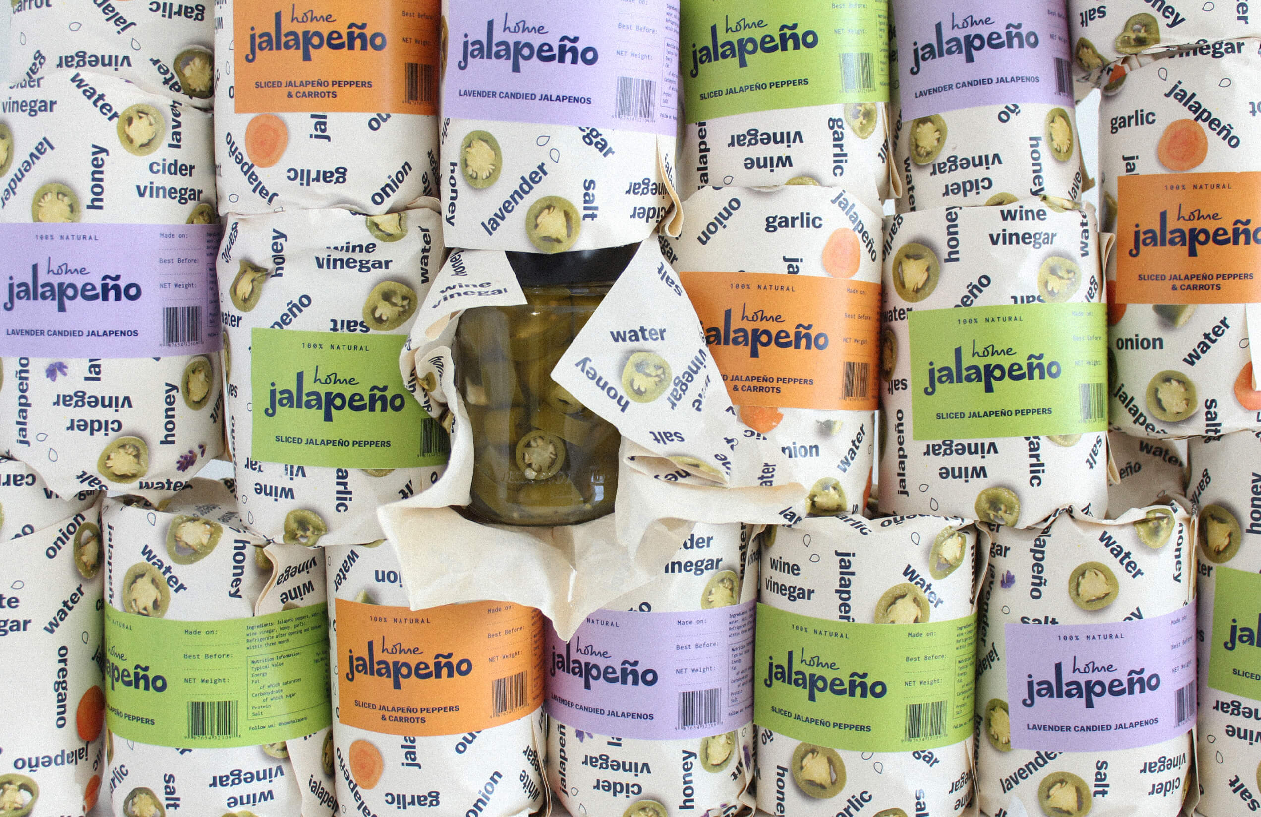 Home Jalapeño Brand and Packaging Design Created by Thisis Peas