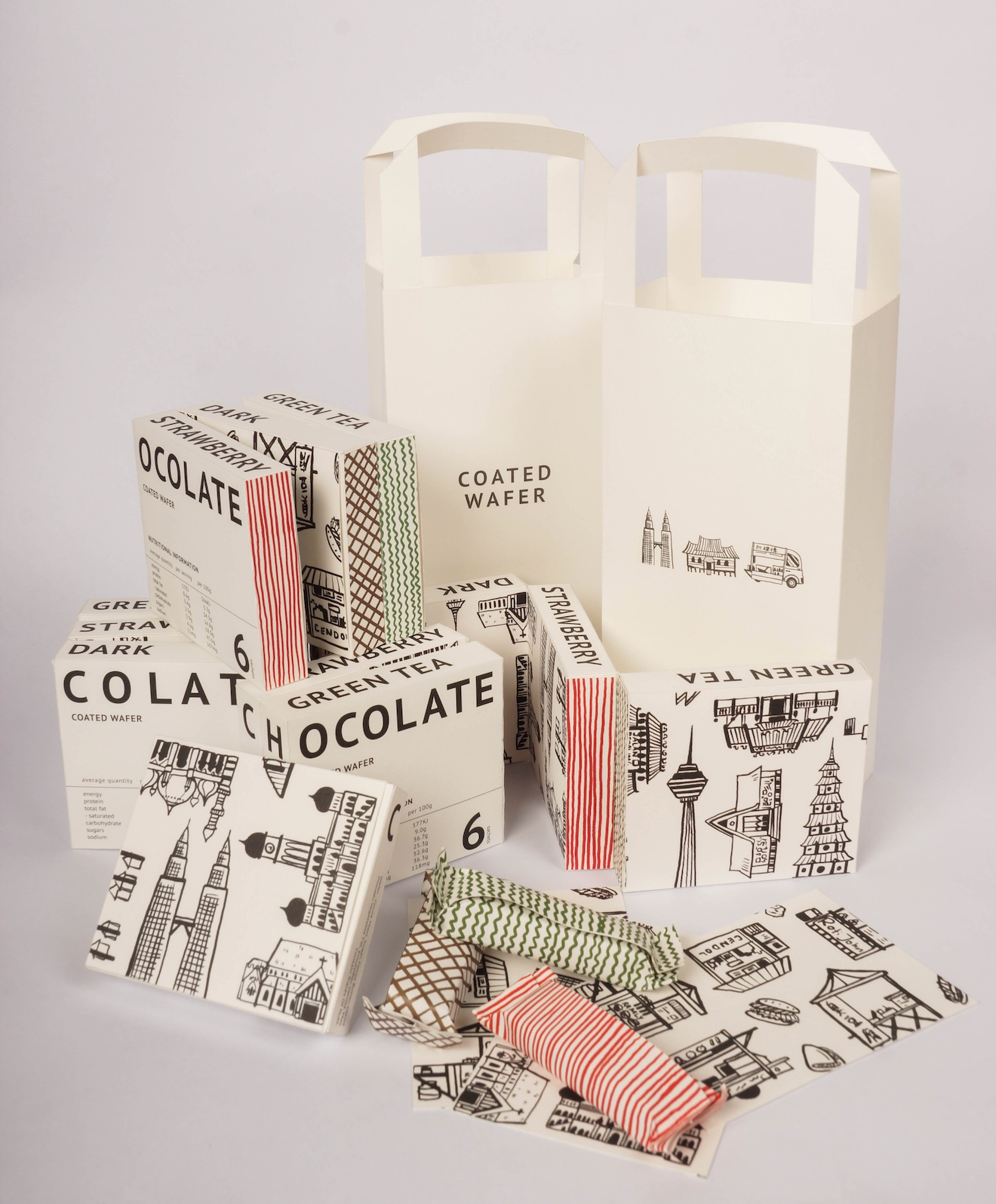 Beryl's Chocolate – a Gift Packaging Design From Malaysia by Youngzheng Liew