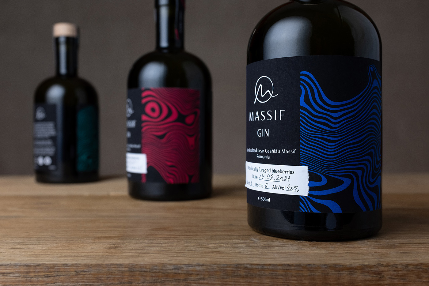 Romanian Massif Gin Designed by Stefan Andries