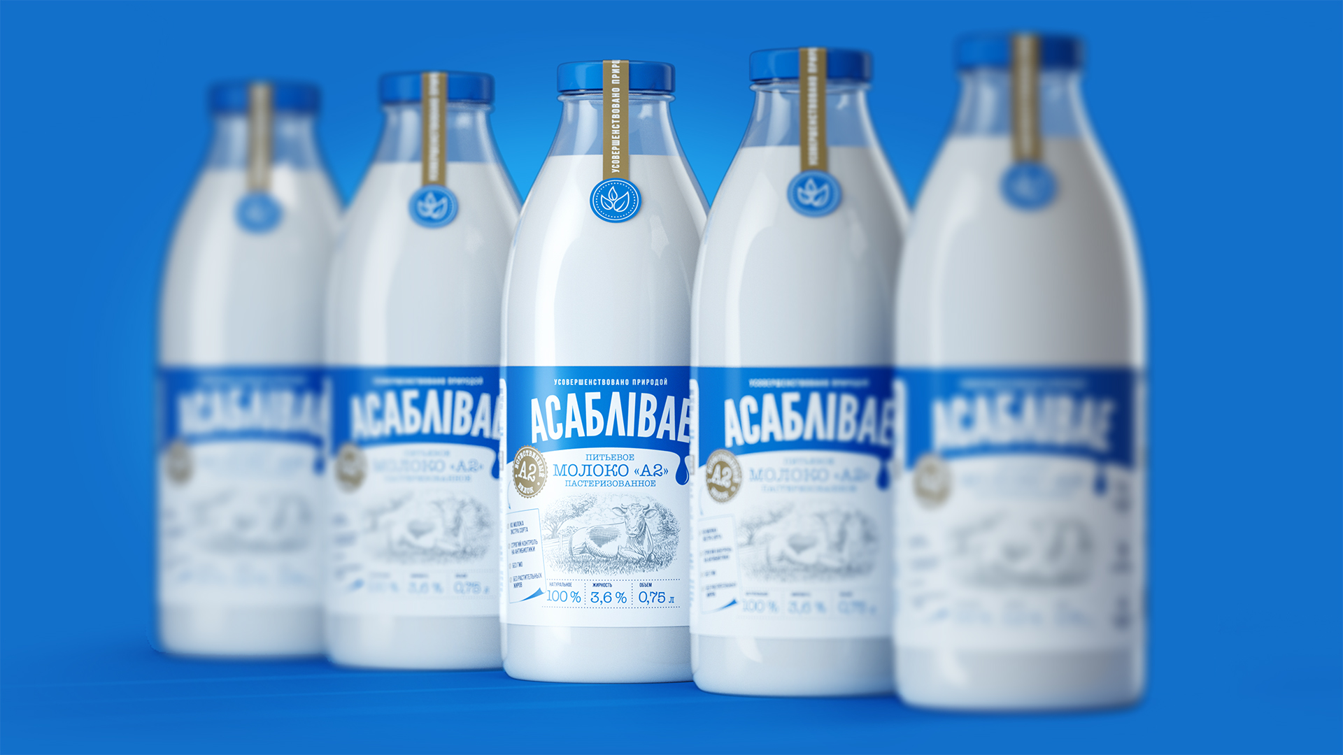 PG Brand Reforming Developed a Brand and Packaging Design for Belarusian Dairy Products