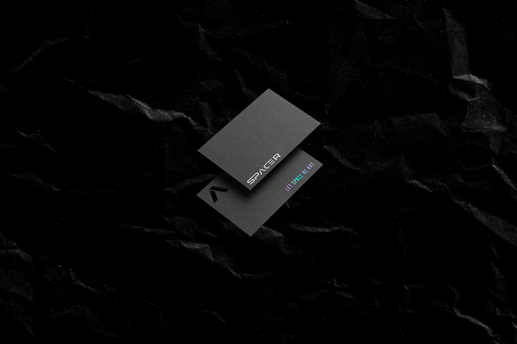 Spacer Brand Identity Created by Maxs