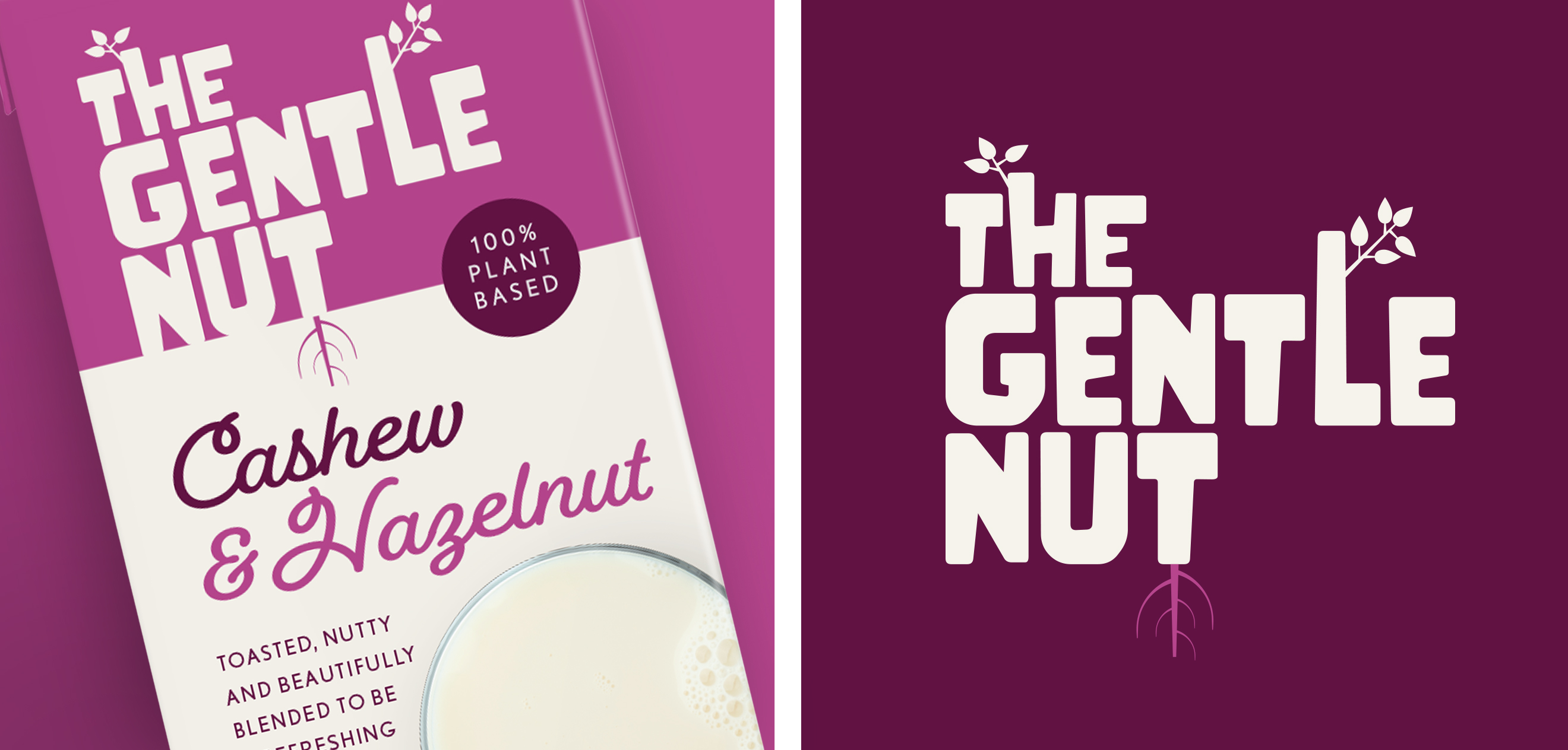 The Brand Nursey Creates Branding for a Better Kind of Alternative to Dairy