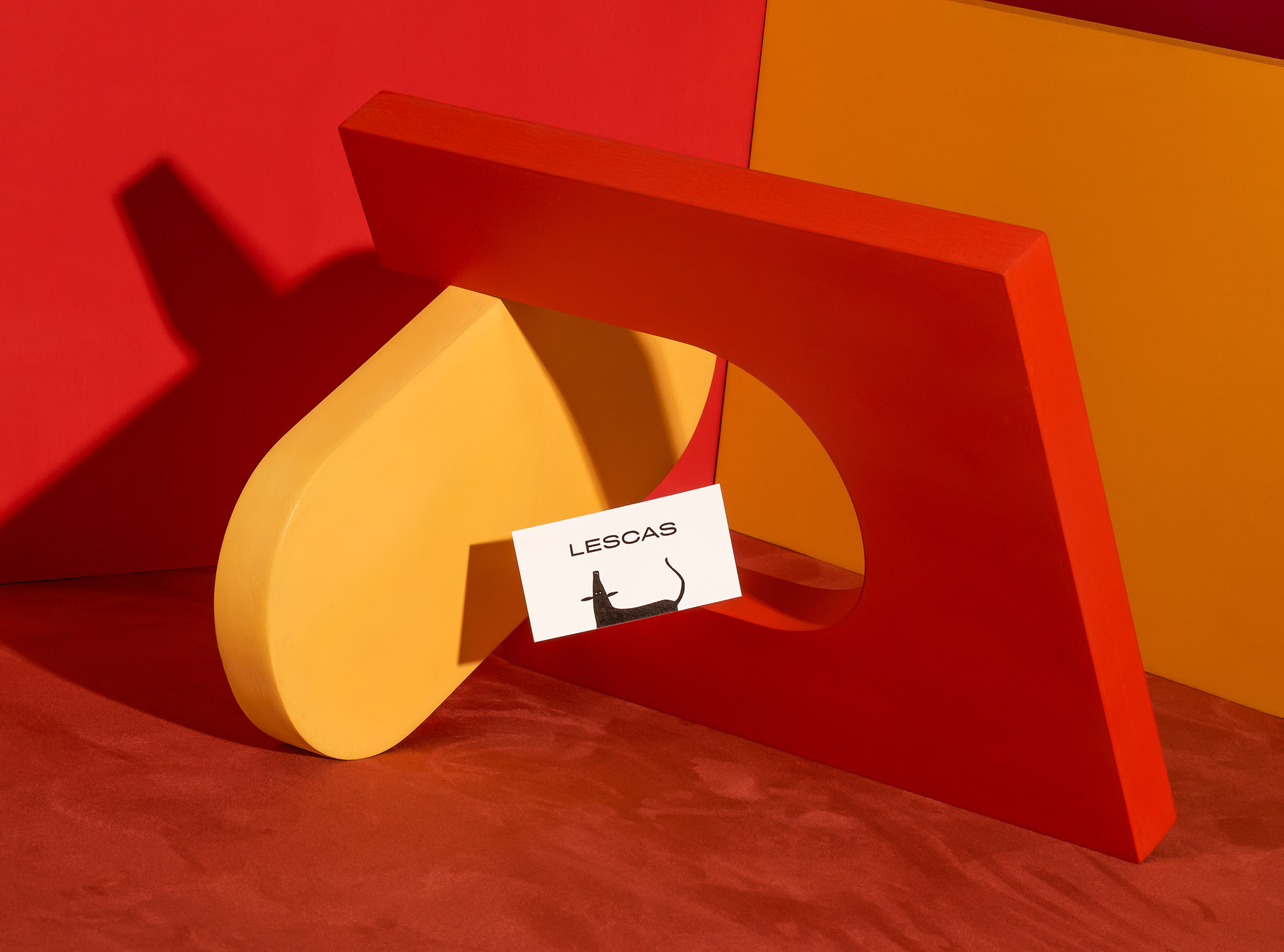 Branding for Mexican Artist Damián Lescas Created by Manifiesto