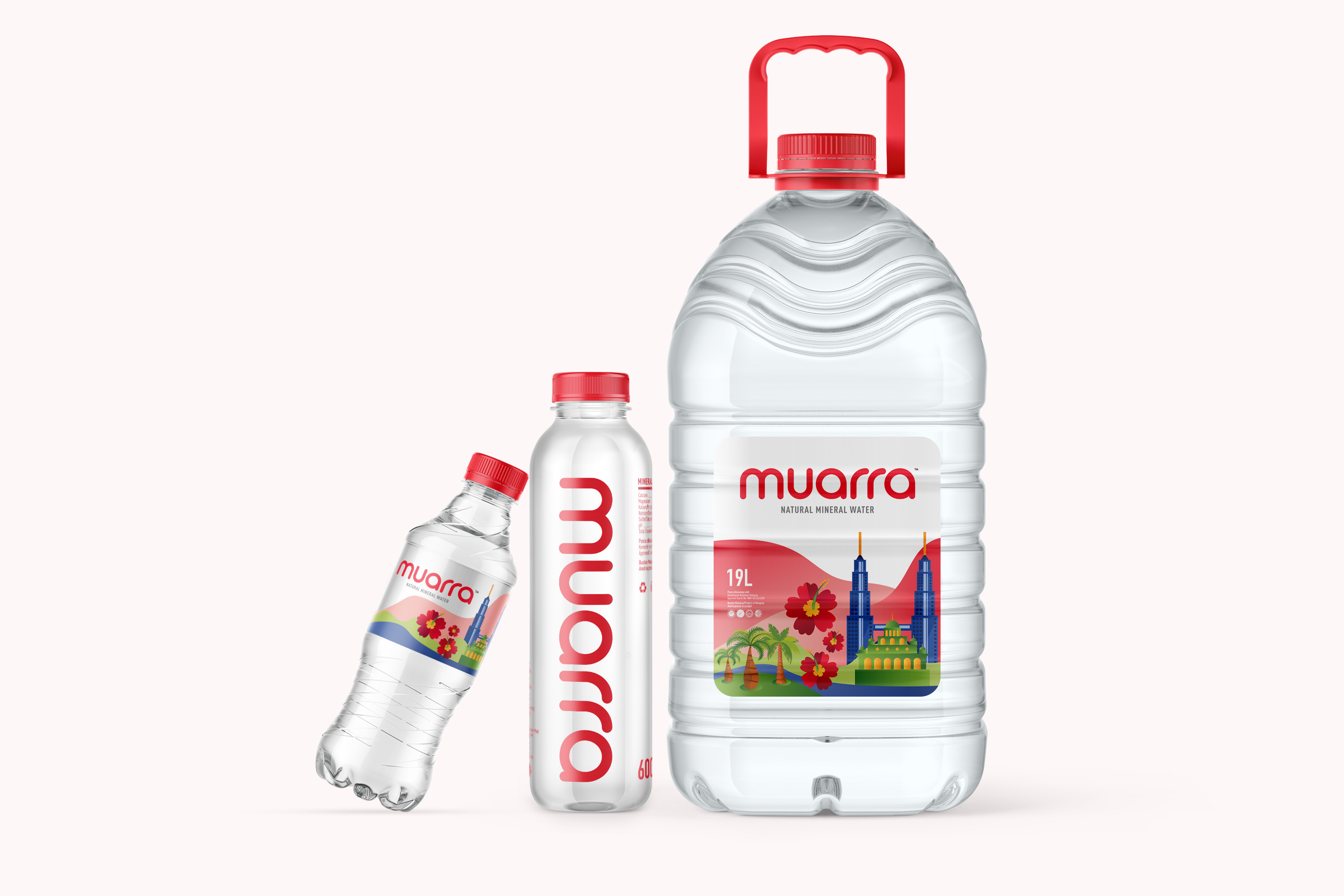Widarto Impact Created the Brand Identity and Packaging Design for Muarra Mineral Water