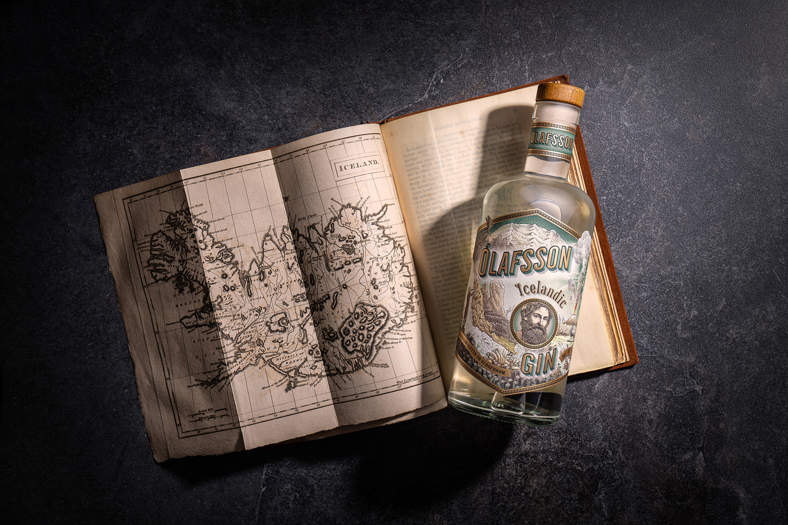 Olafsson Icelandic Gin Packaging Design by The Rooster Factory