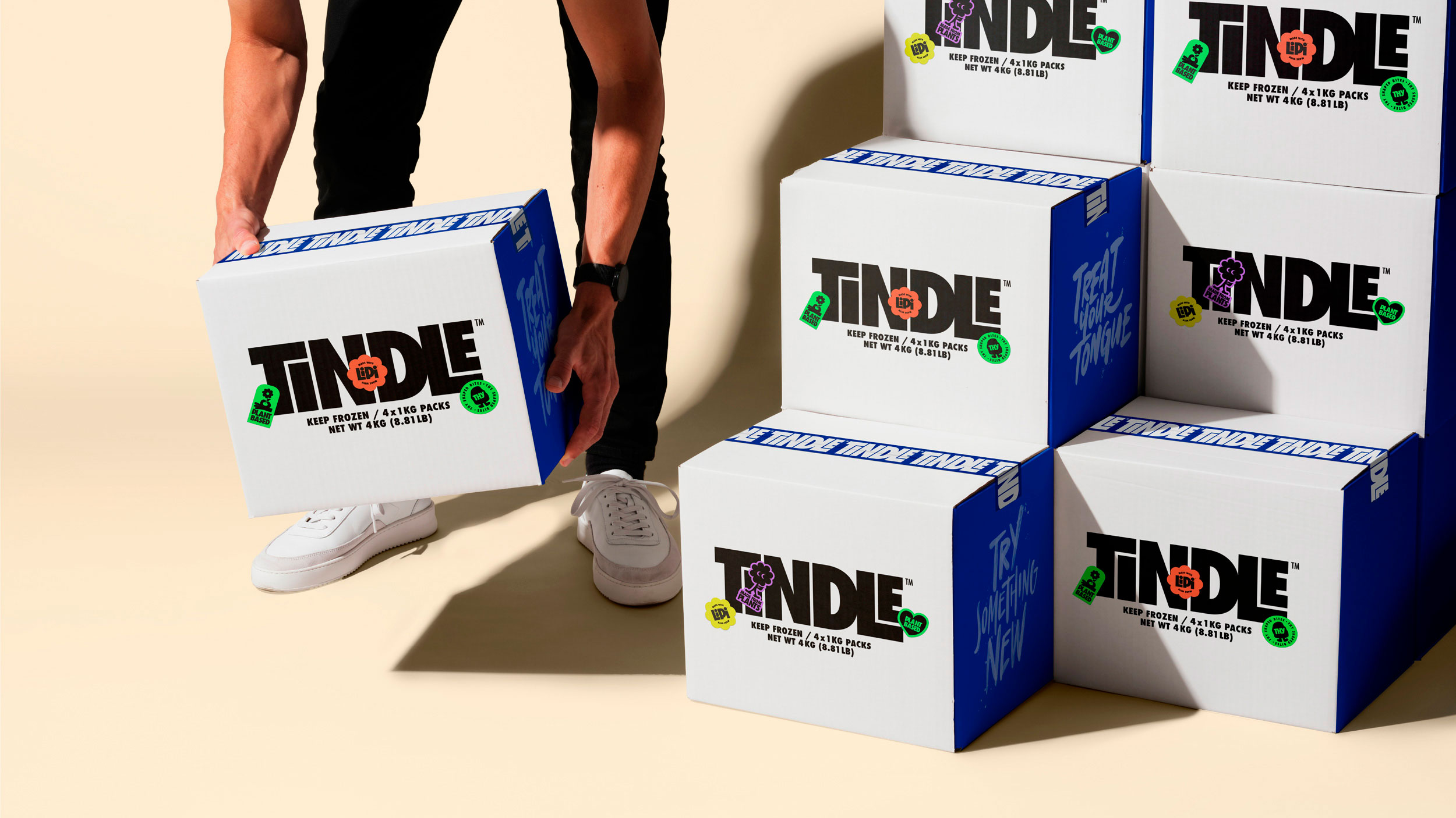 Everland Help Chicken-Alternative Tindle to Accelerate the Plant Revolution with New Brand Design