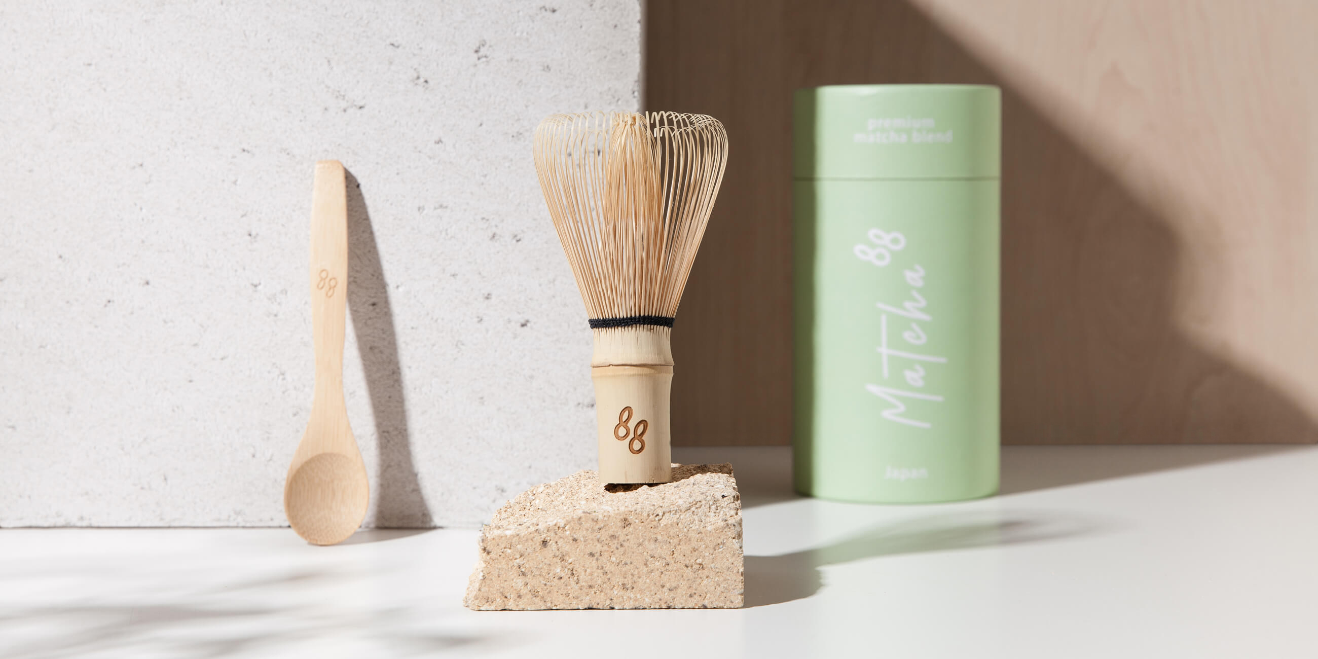 Matcha88 Branding and Packaging Design by Sergio Laskin Agency