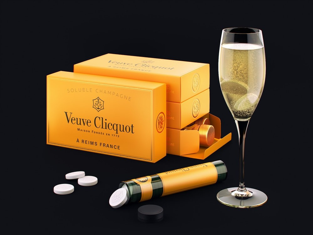 Veuve Clicquot – Concept Shhh…ampagne