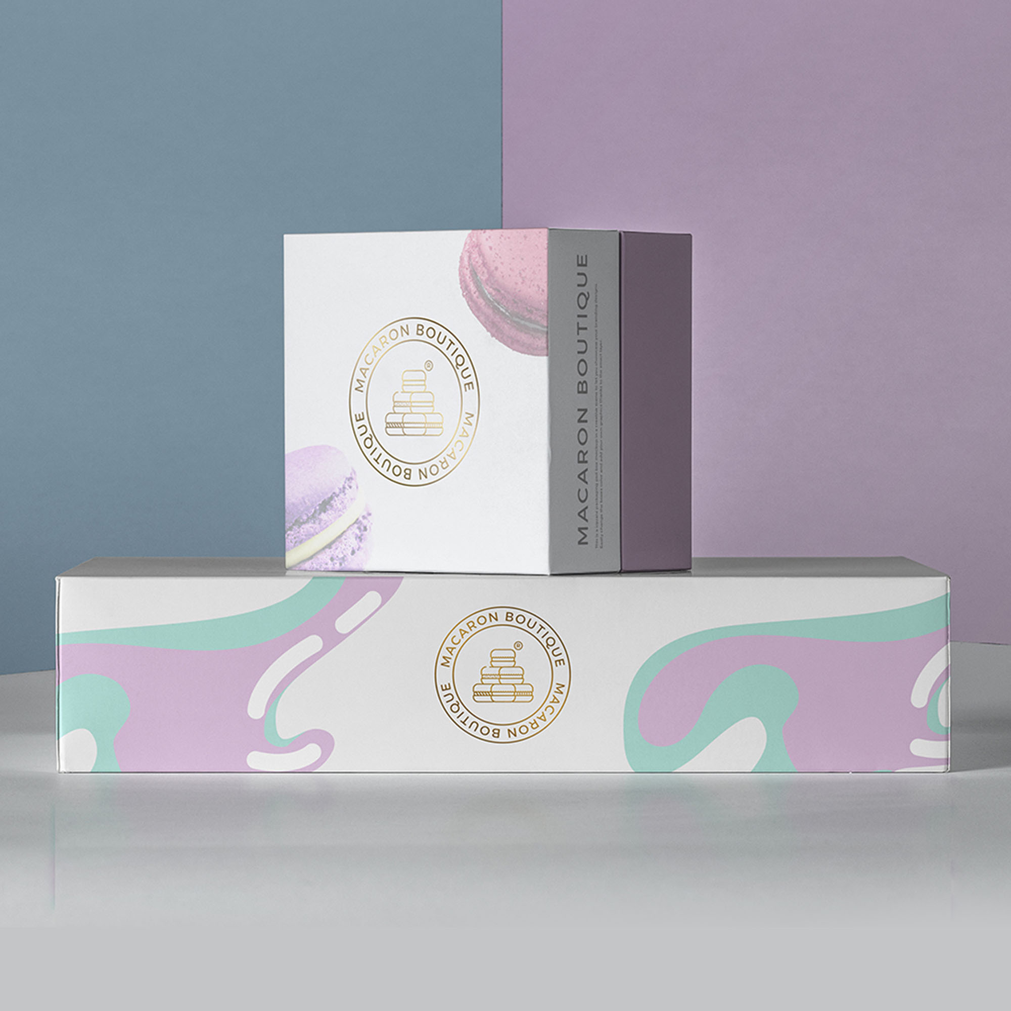 Stationery Design for Macaron Boutique Patisserie