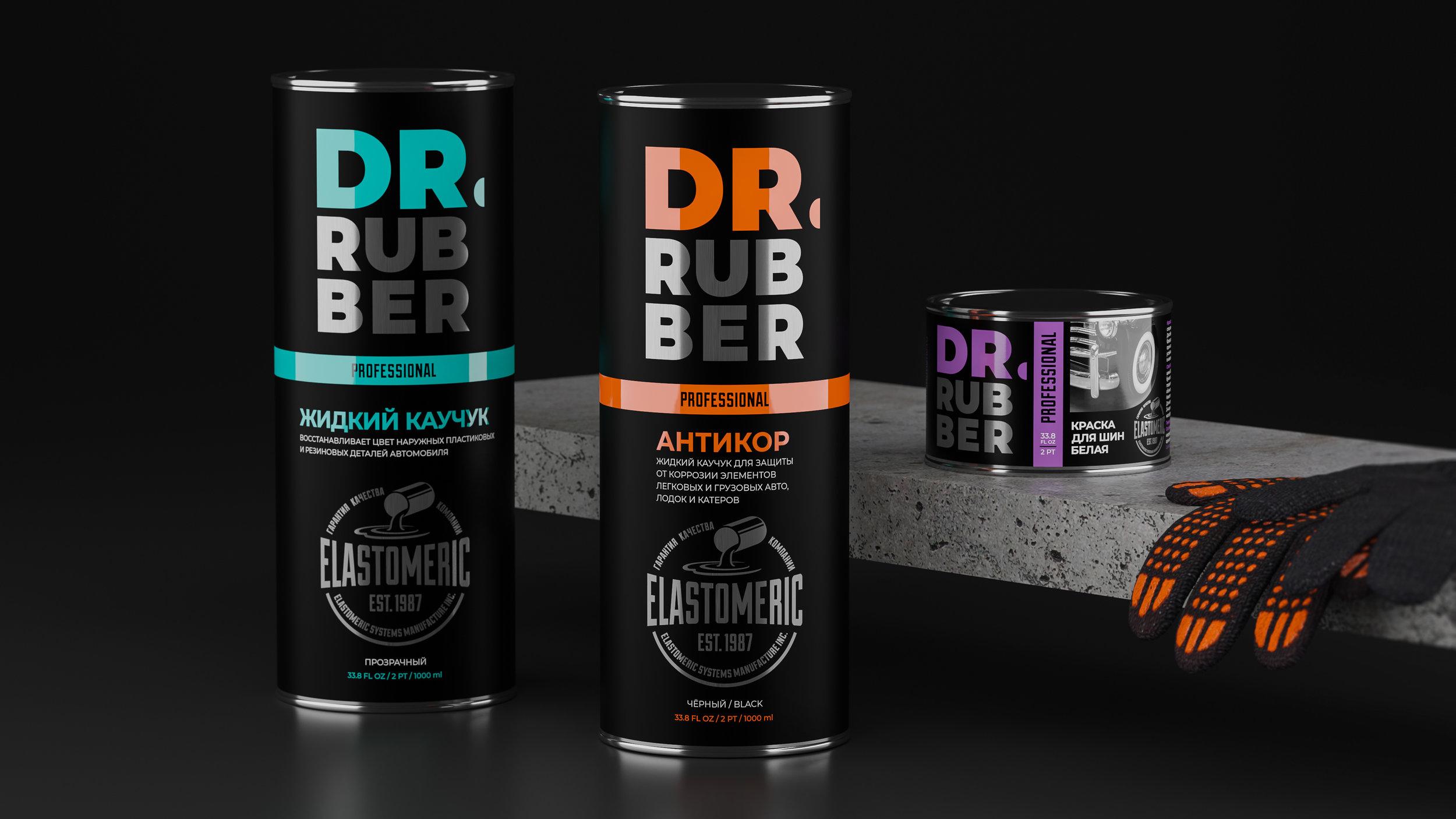 Branding of Dr. Rubber By CUBA Creative Branding Studio For Elastomeric Systems