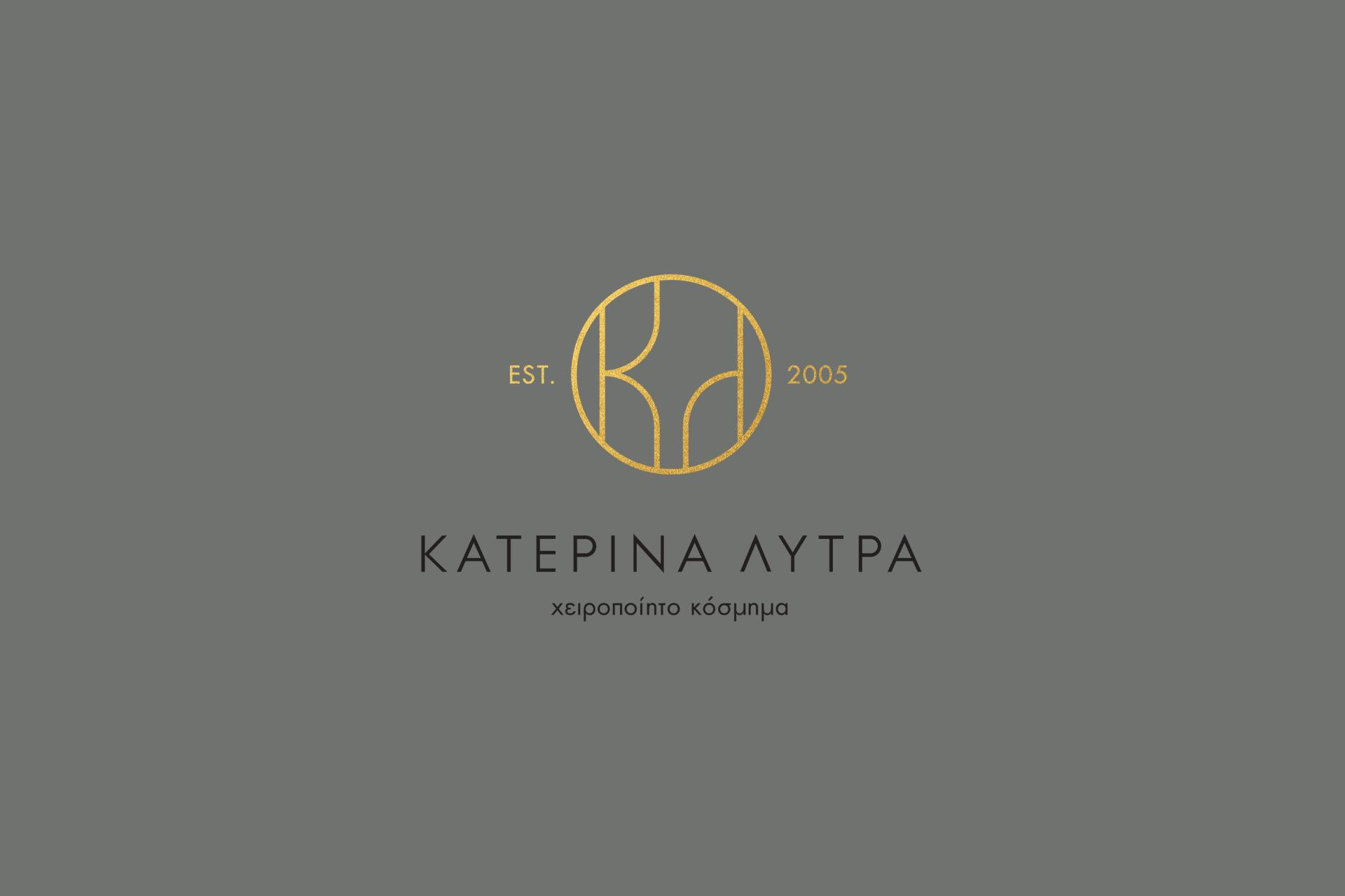 Logo-monogram, Branding and Packaging Design for Greek Handmade Jewellery Brand