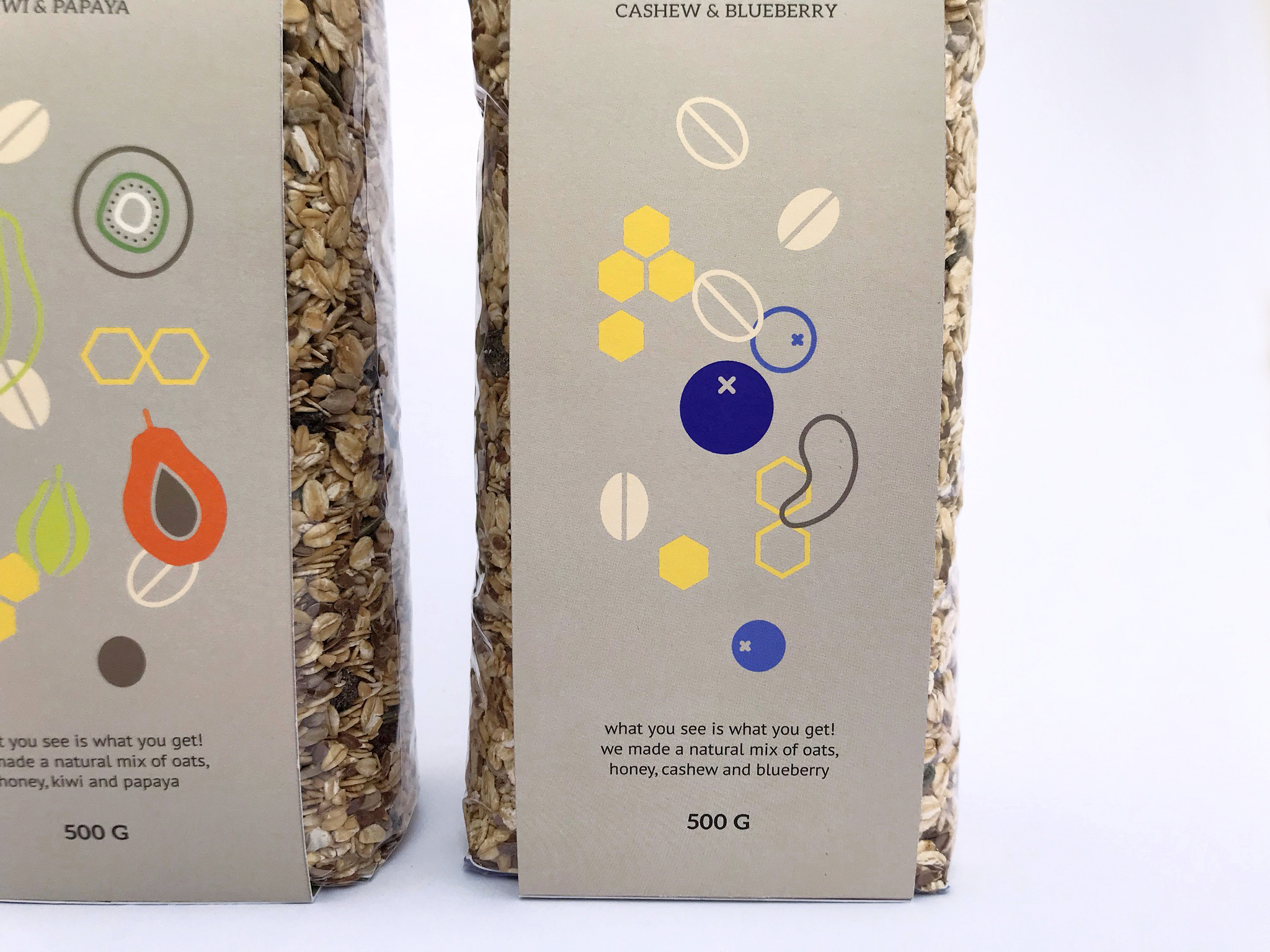 Packaging Design for Granola Products
