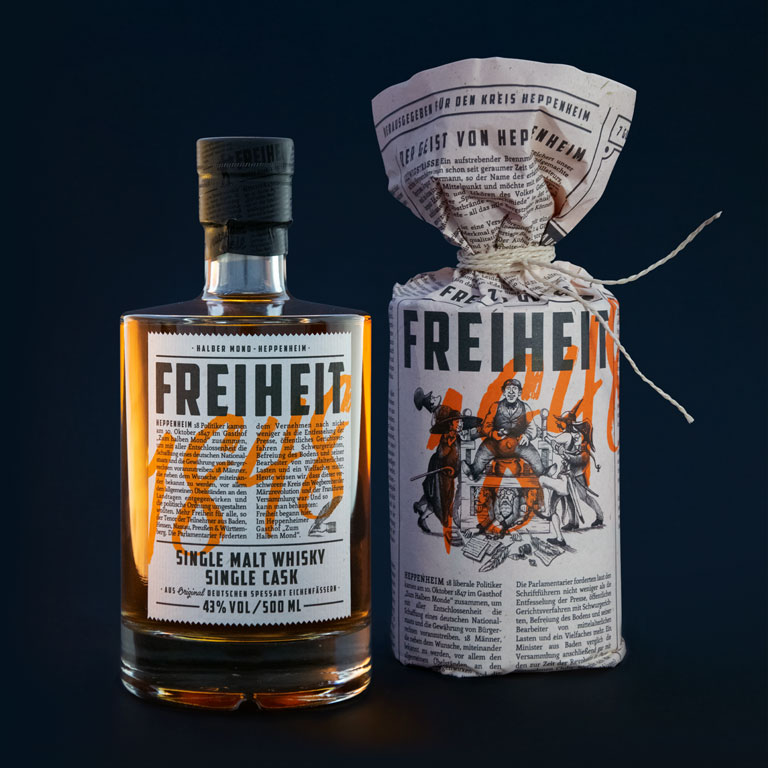 Higgins-Design GmbH - Freiheit 1884 German Single Malt Whiskey1.jpg
