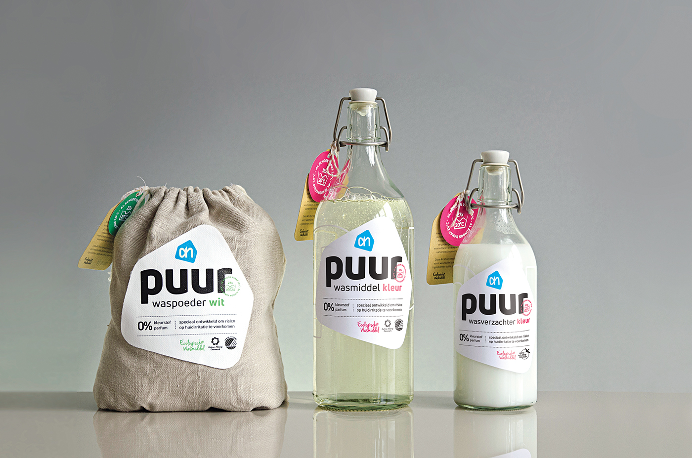 Packaging Concept of Ecological Detergent